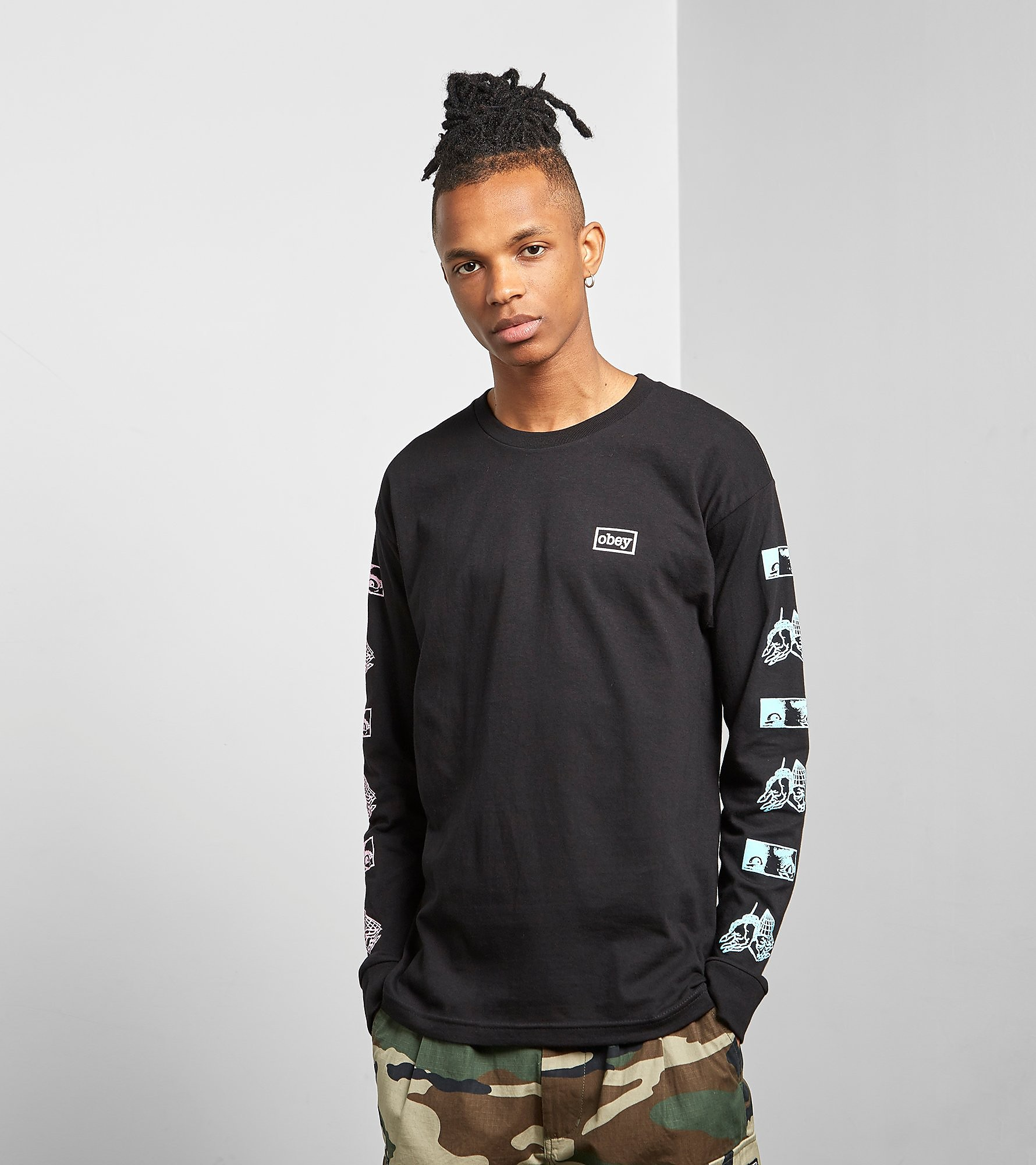 Obey Long Sleeved Shockbound T-Shirt
