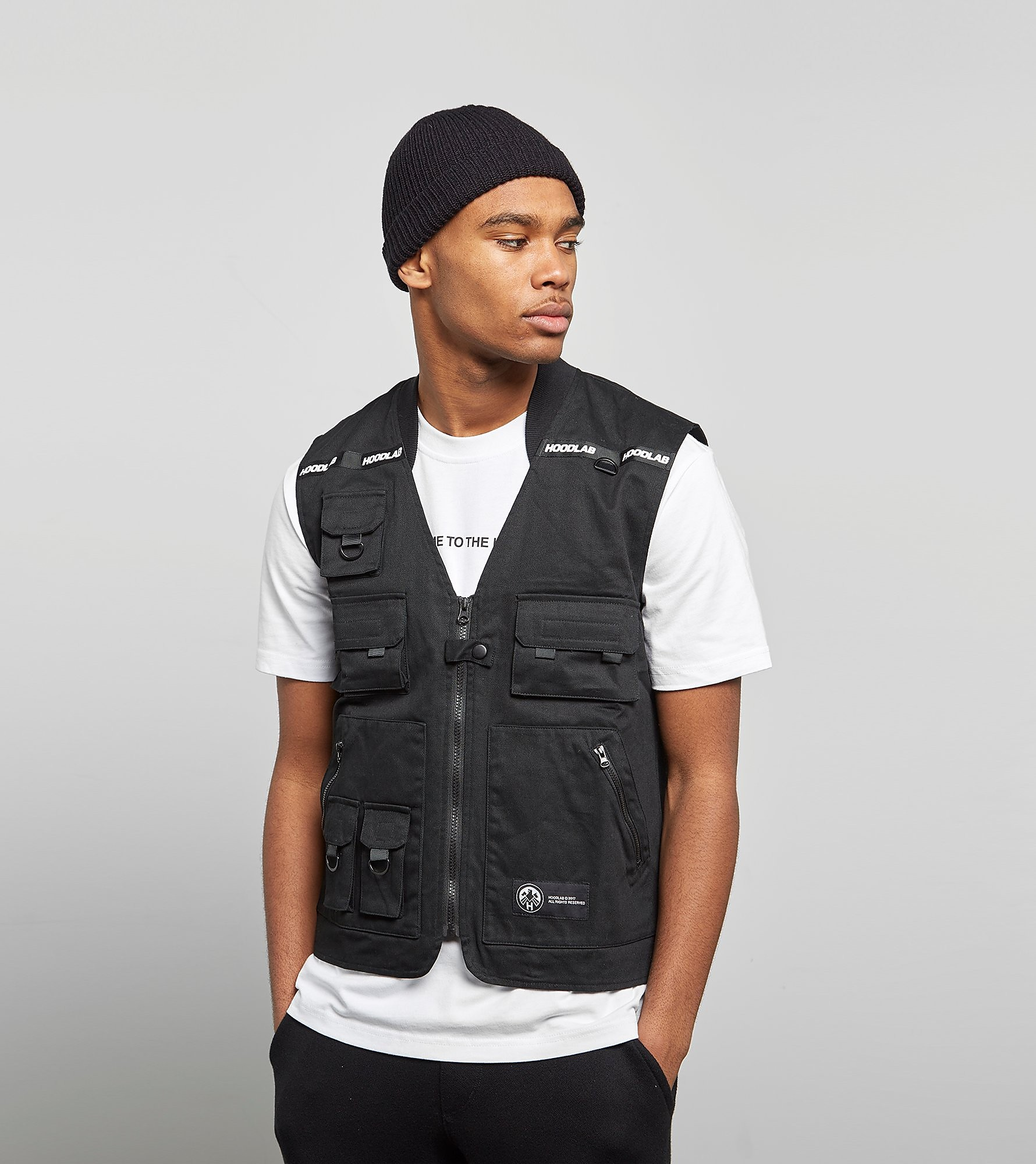 Hoodlab Veste sans Manches Tactical - exclusivité size?