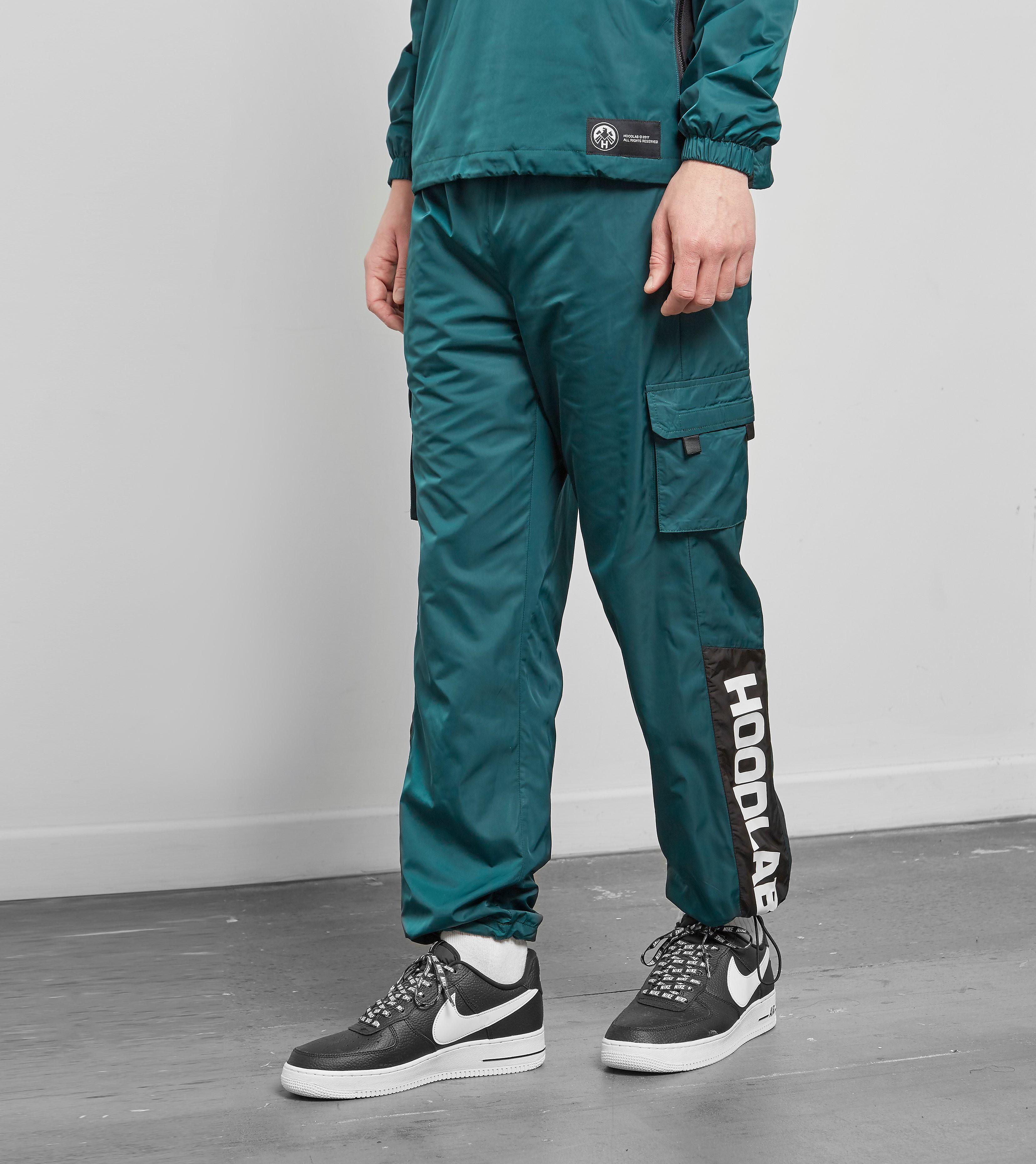 Hoodlab Pantalon de Survêtement Nylon, Vert