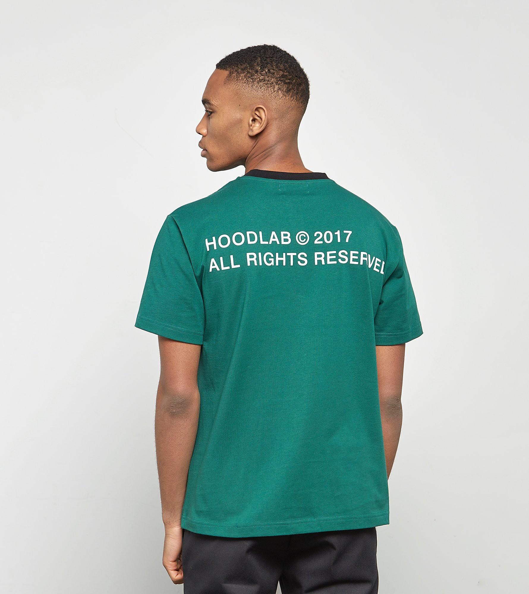 Hoodlab T-Shirt All Right - exclusivité size?, Vert