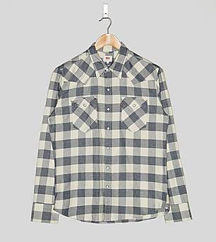 Levis Barstow Long-Sleeved Checked Shirt