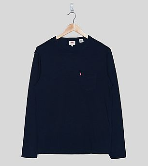 Levi's Long-Sleeved Sunset Pocket T-Shirt