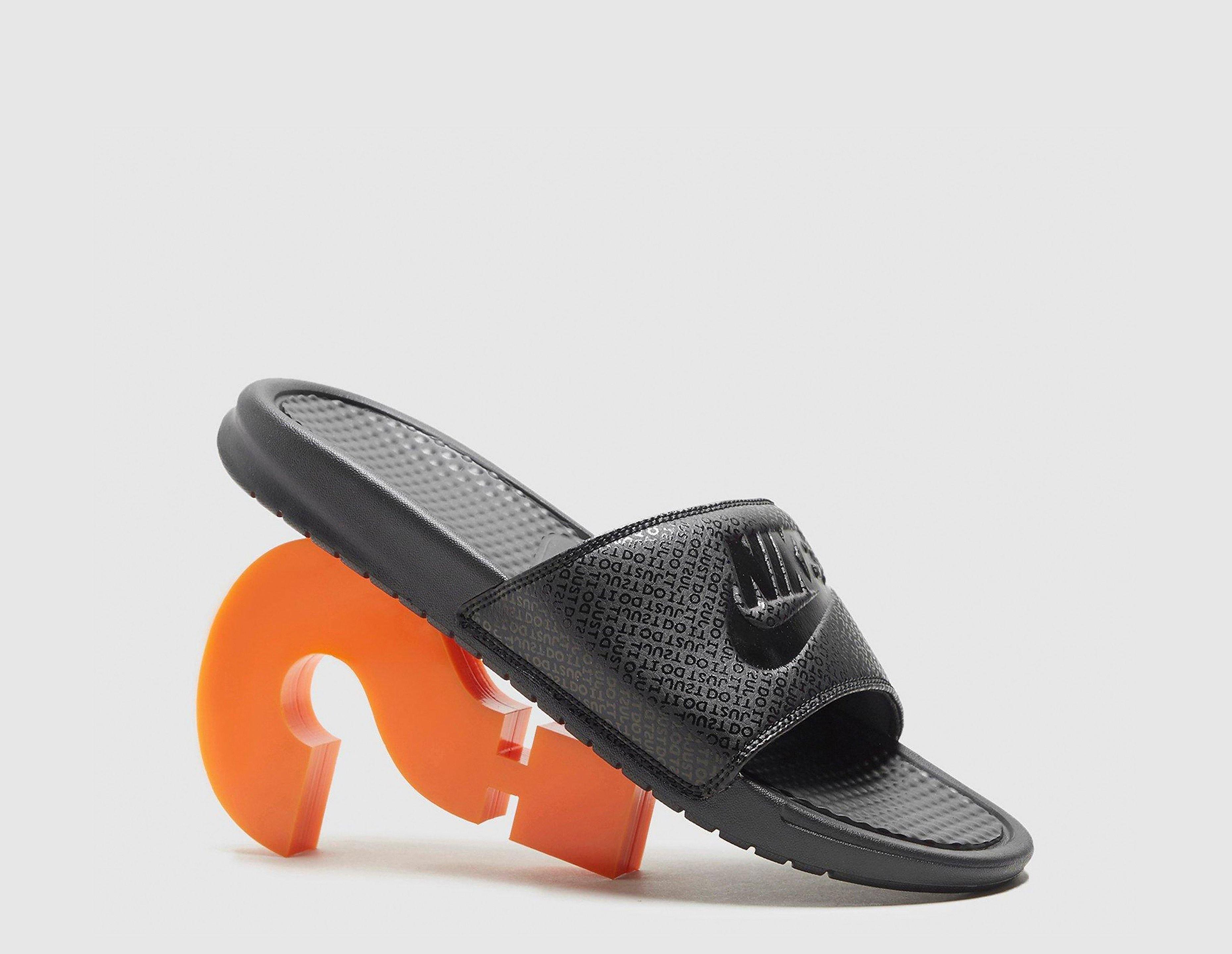 Nike Benassi Sandaler, Sort