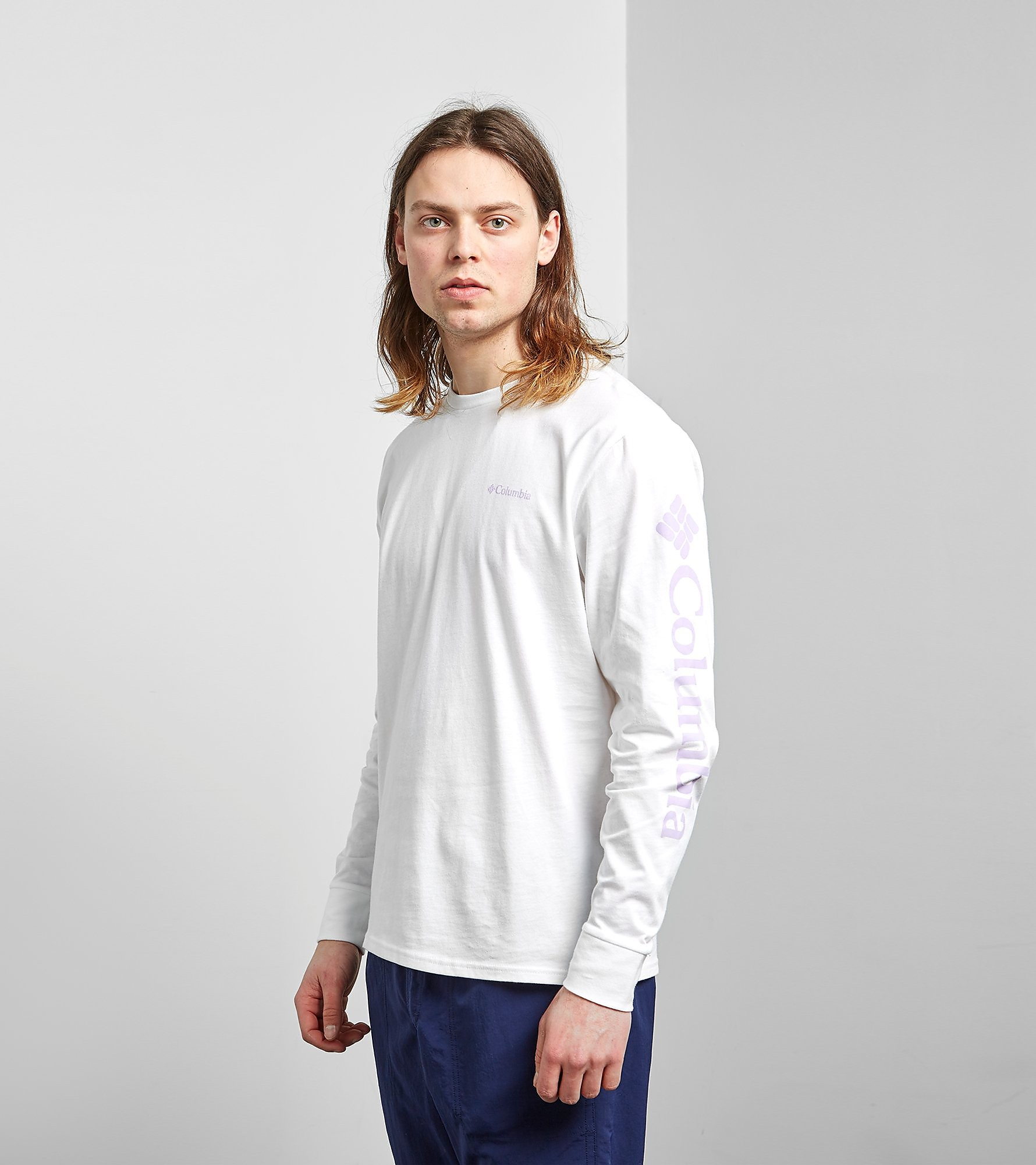 Columbia Longsleeve size?exclusive, Wit