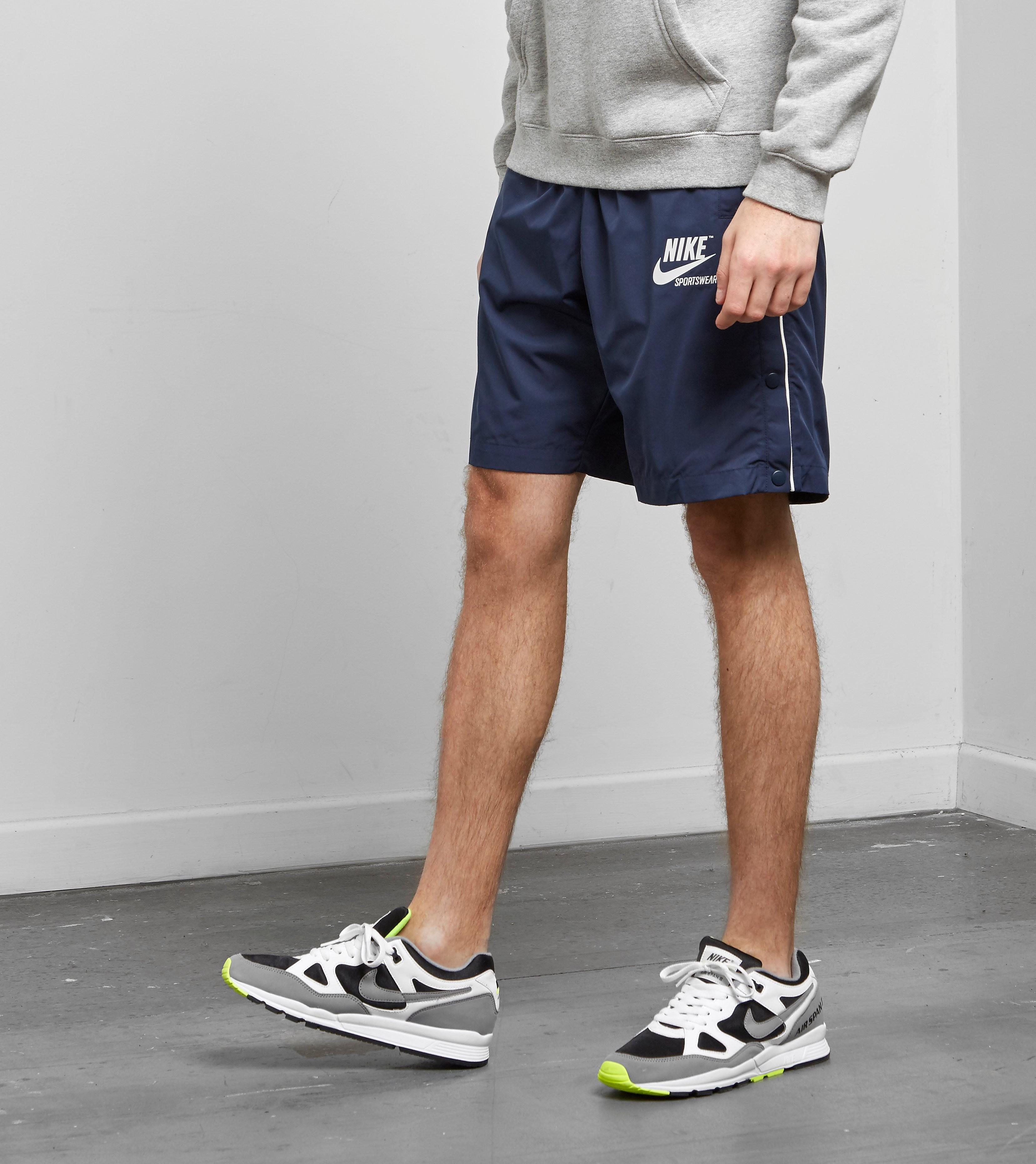 Nike Pantaloncini Archive Woven, Celeste
