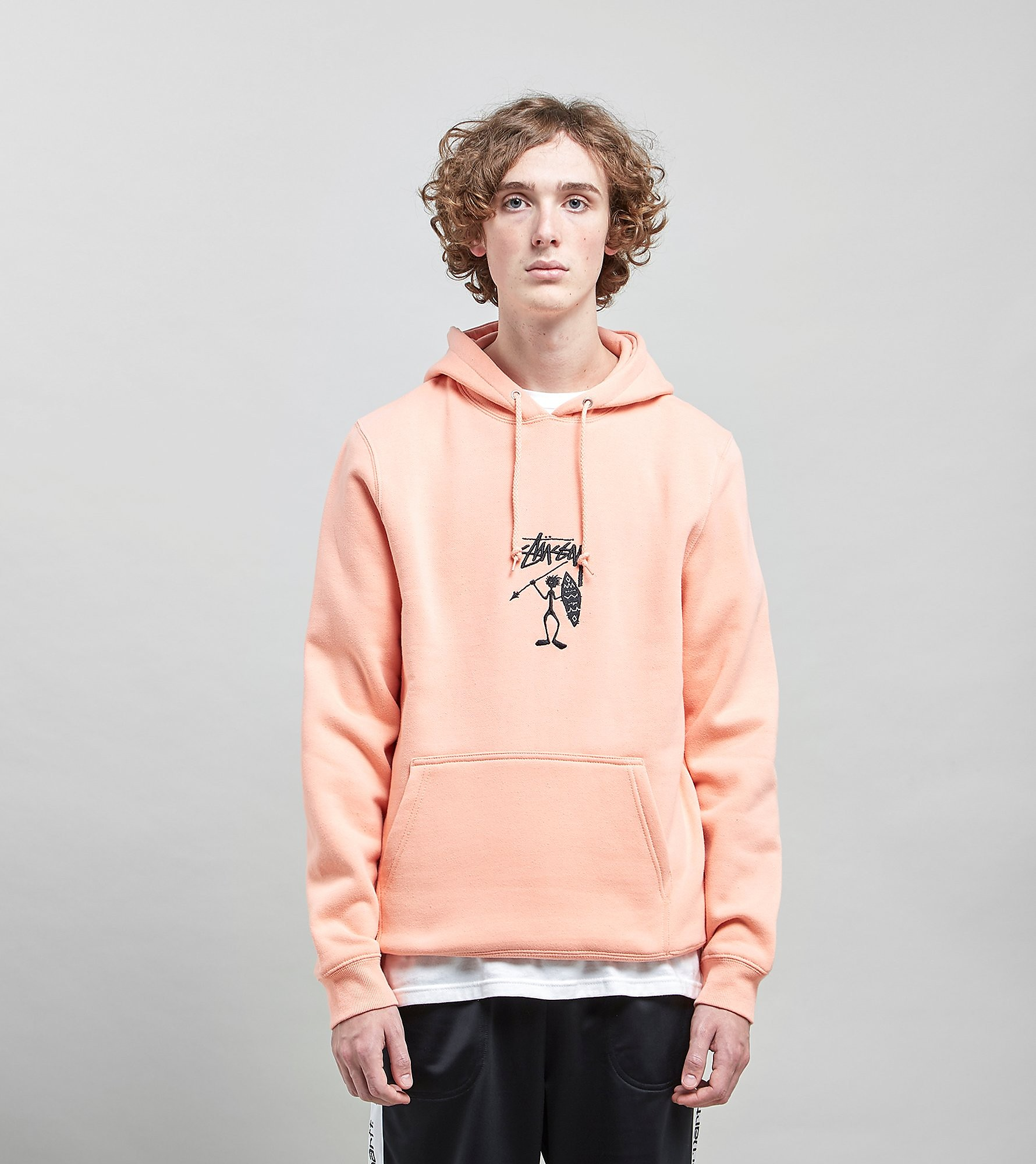 Stussy Tribe Man Applique Hoody