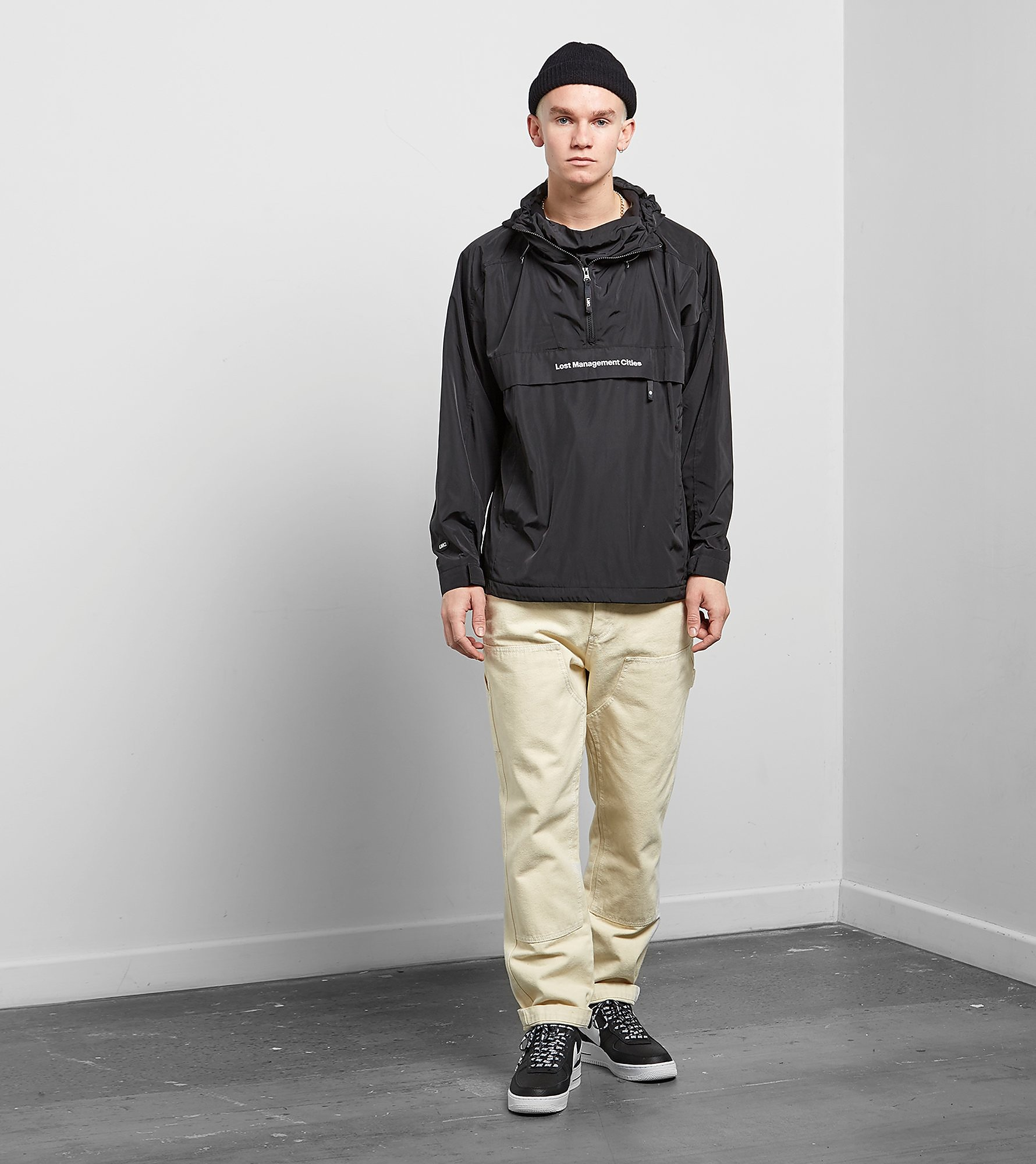 Lost Management Cities Hood Logo Anorak Jas