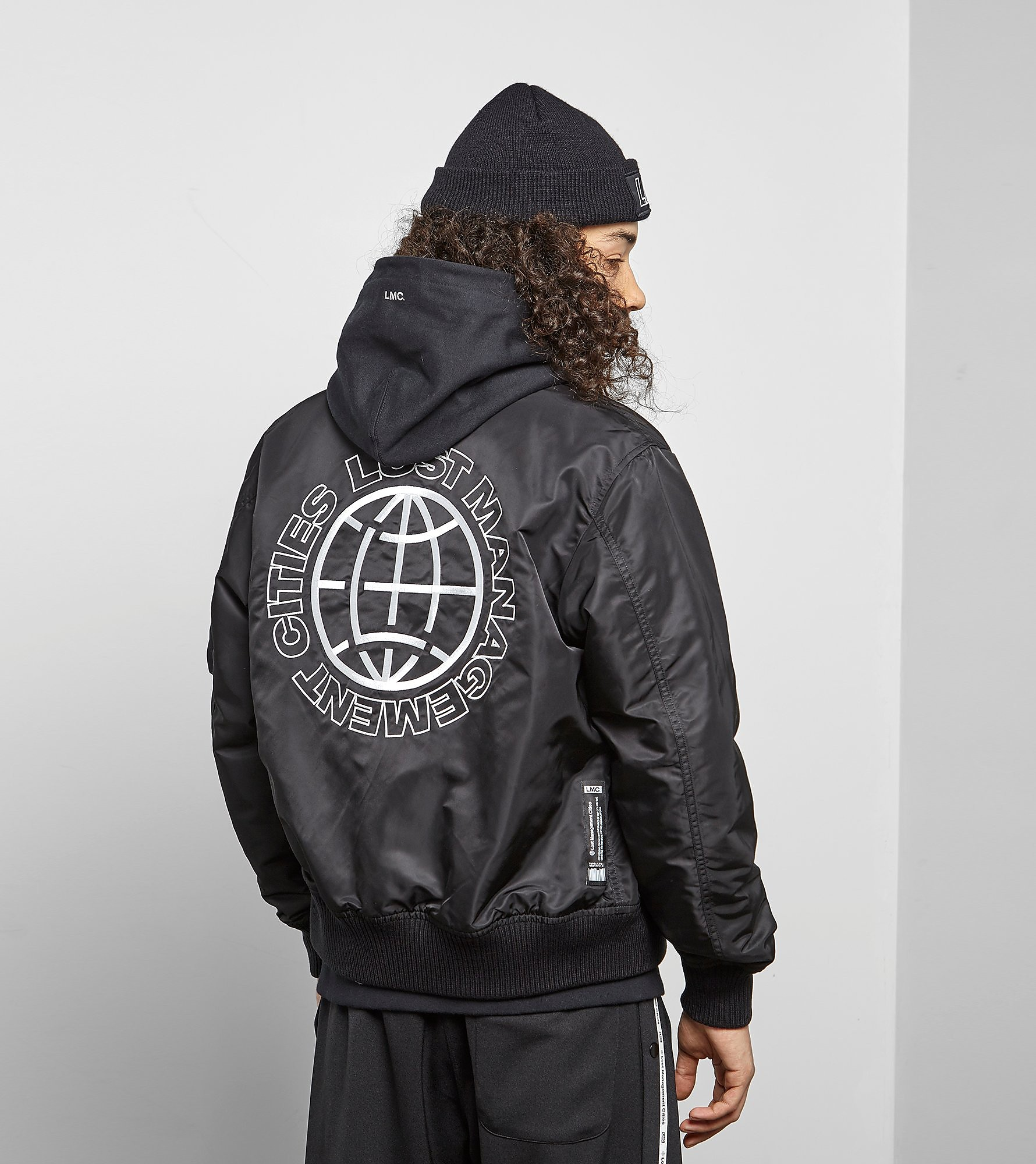 Lost Management Cities Reversible MA-1 Jacket