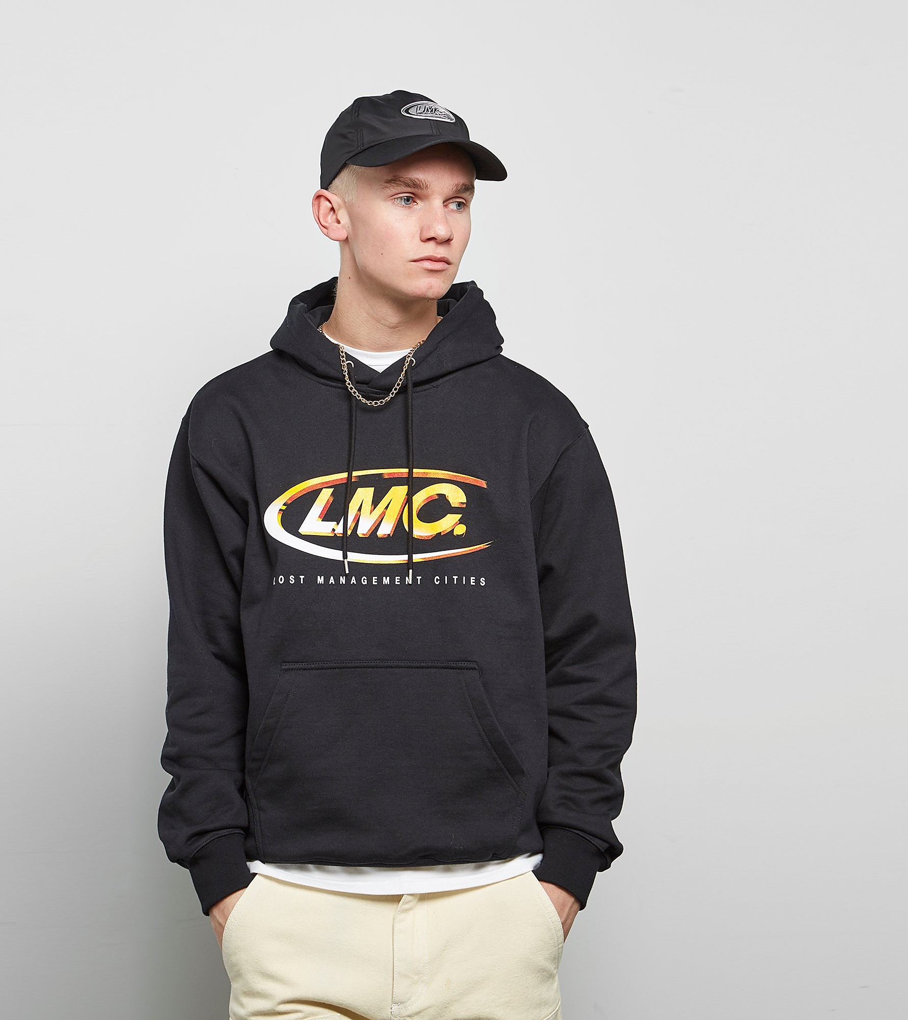 Lost Management Cities 3D Logo Hoodie