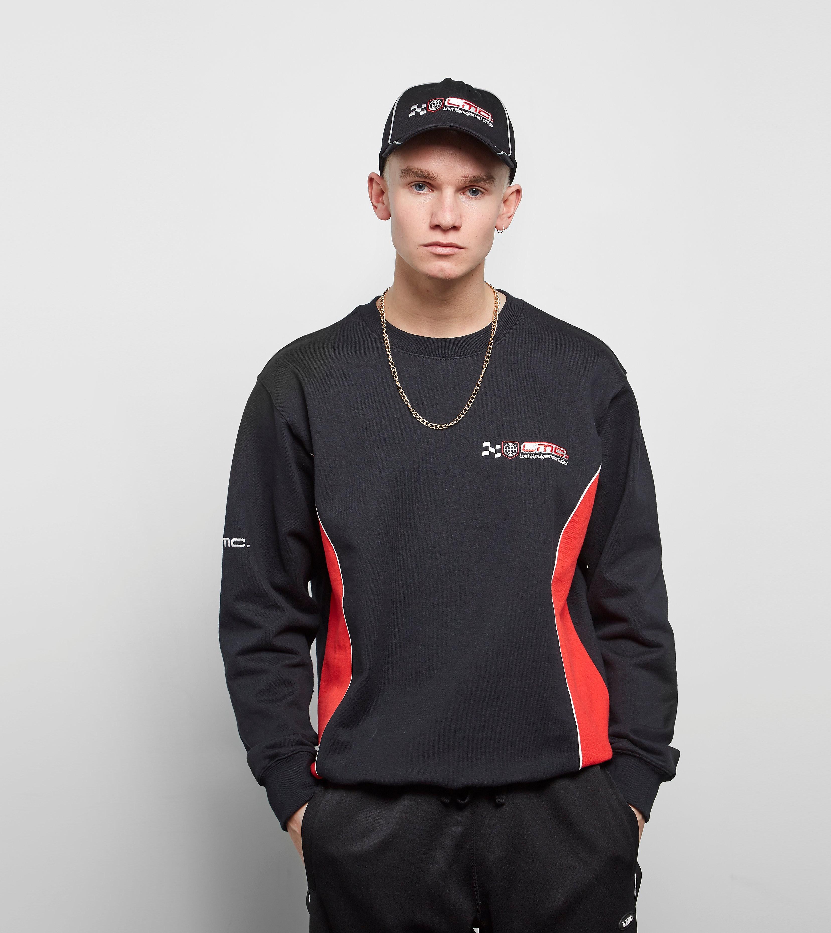 Lost Management Cities Racing Sweatshirt