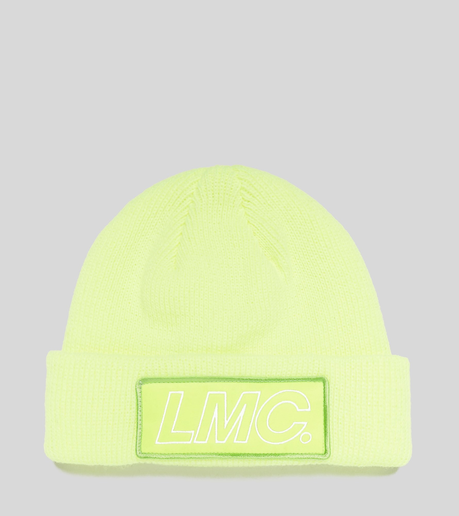 Lost Management Cities Italic Logo Patched Beanie