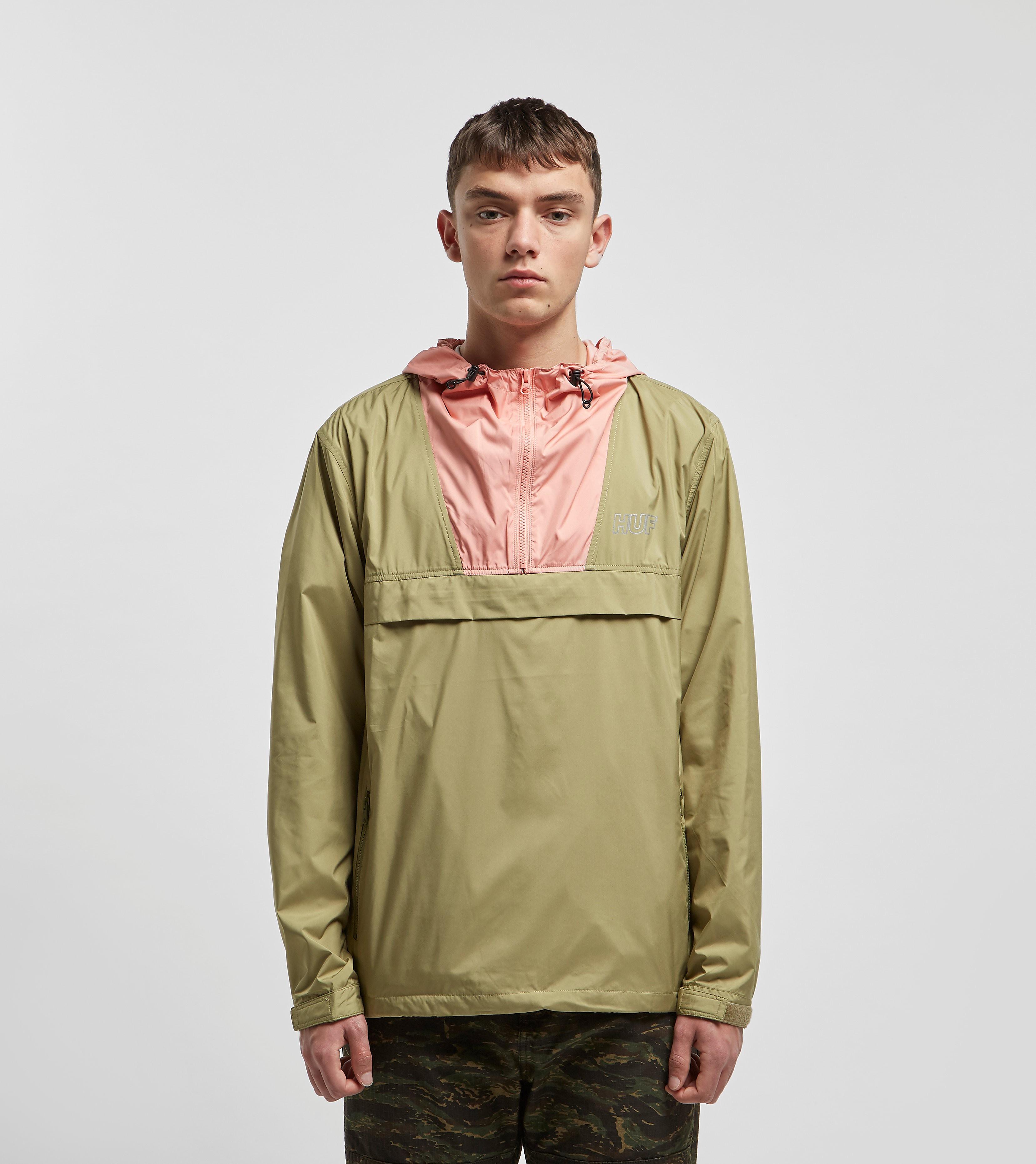 HUF Explorer Anorak Jacket, Verde