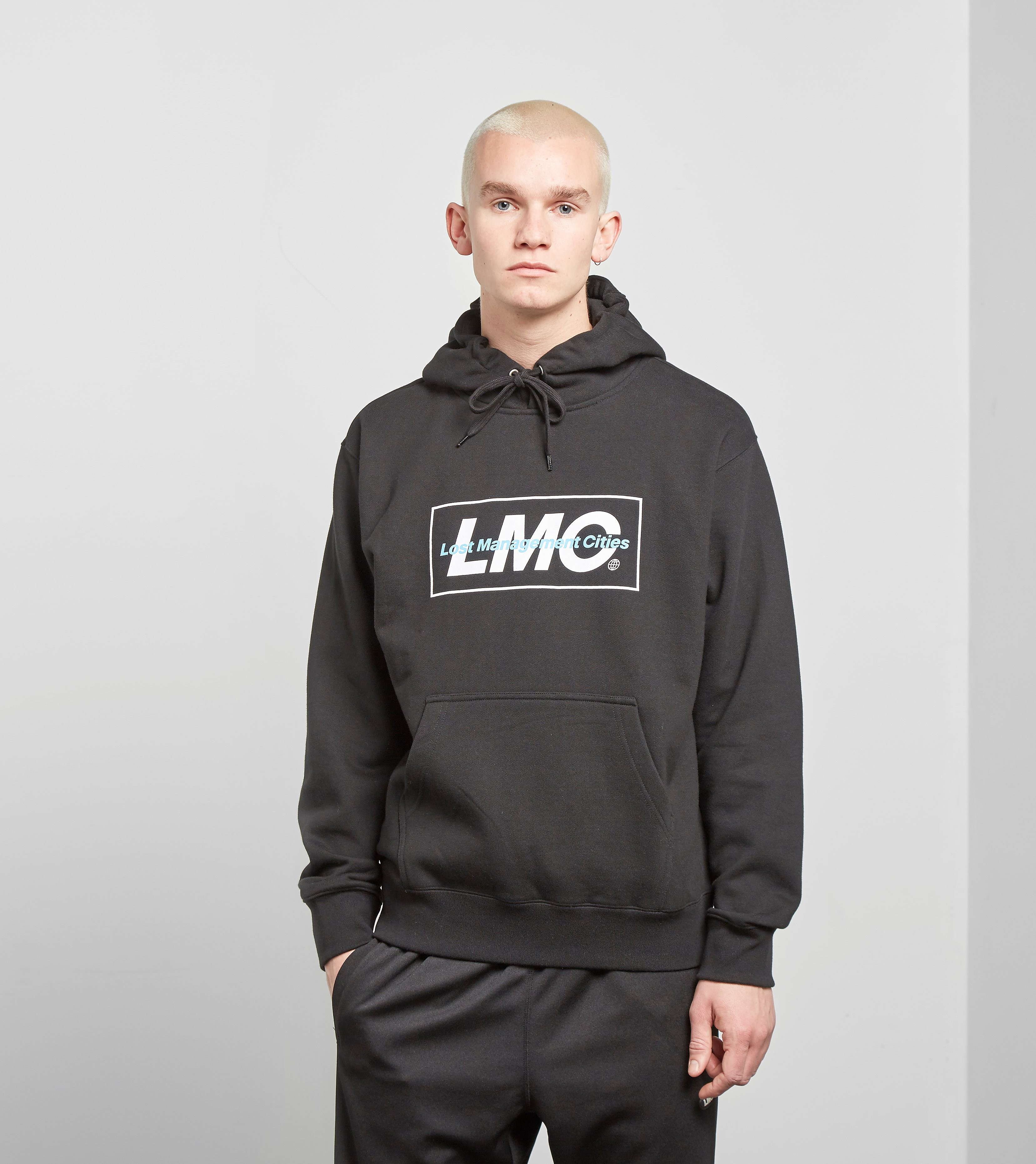 Lost Management Cities Mixed Logo Hoody