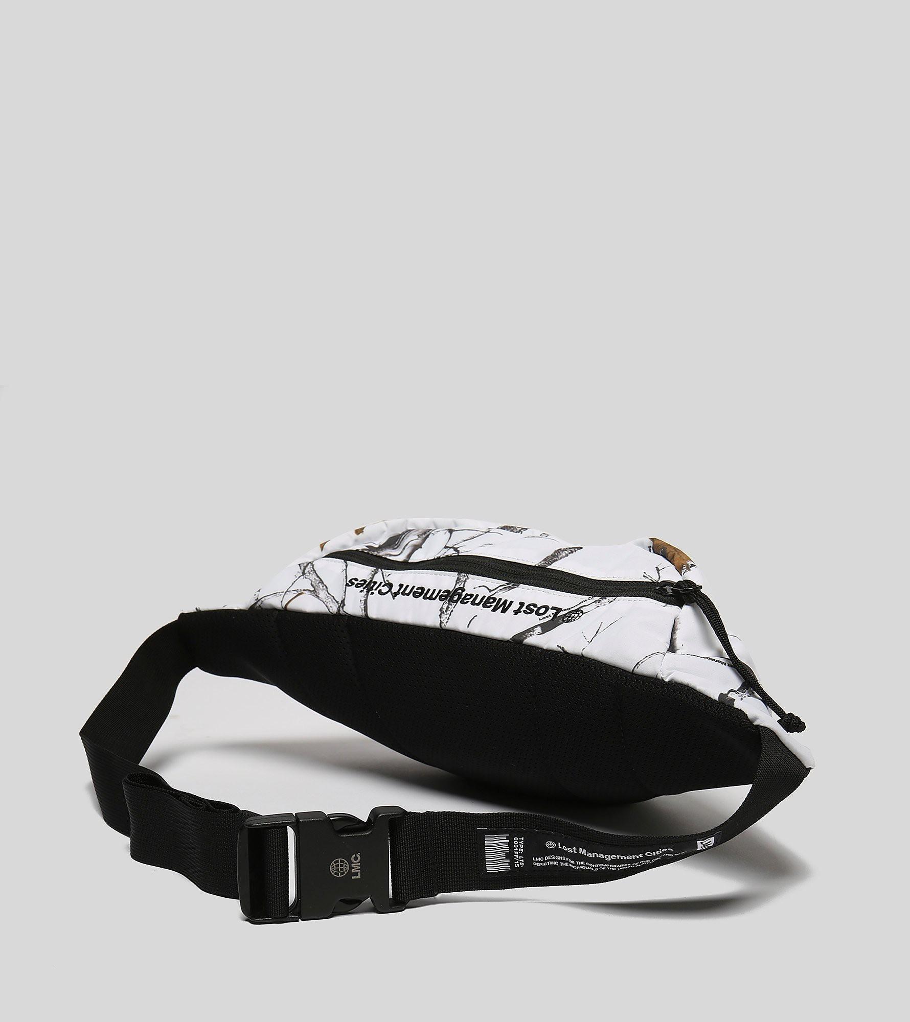 LMC PVC RL WAIST BAG WHT