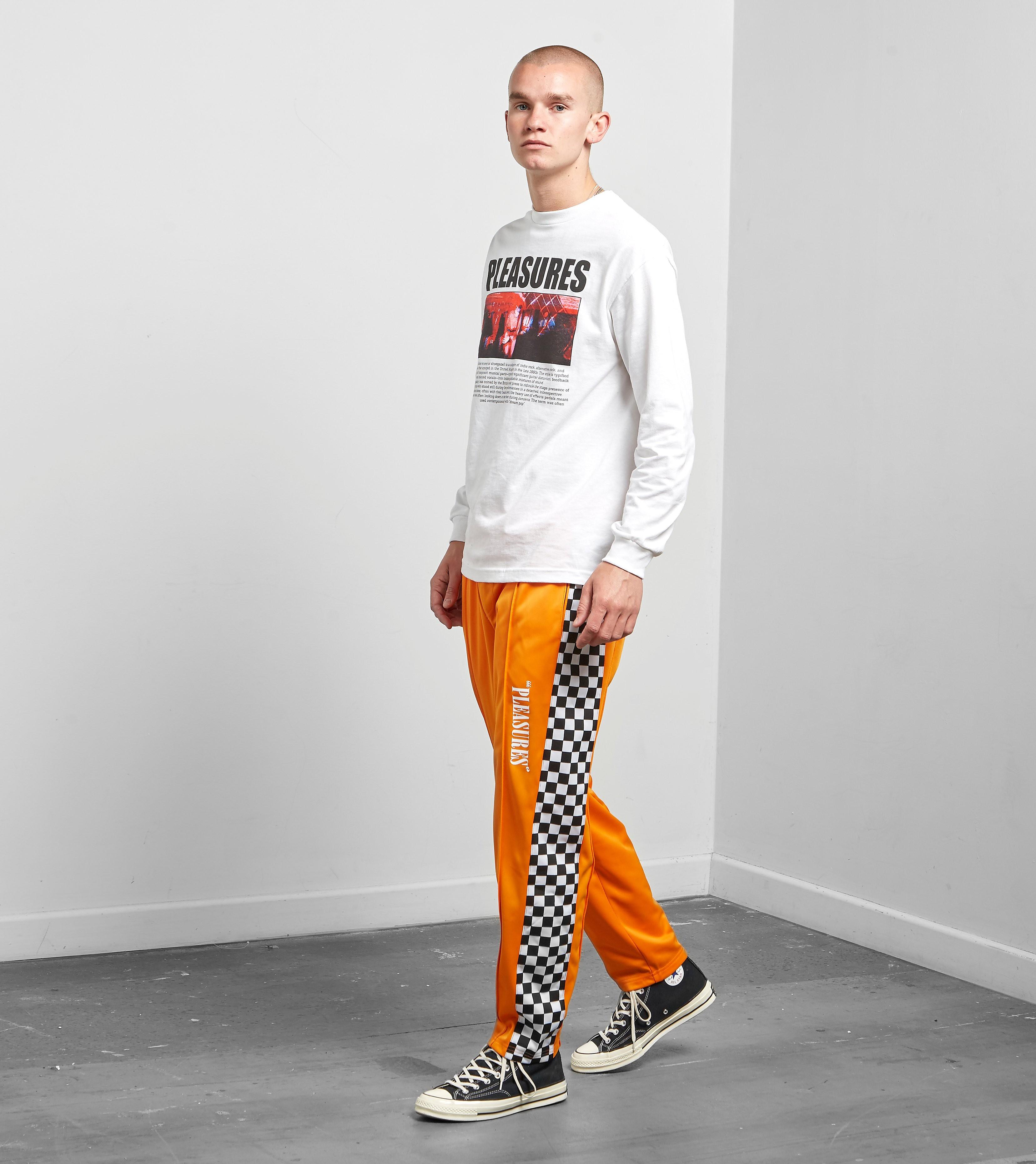PLEASURES Checker Track Pant