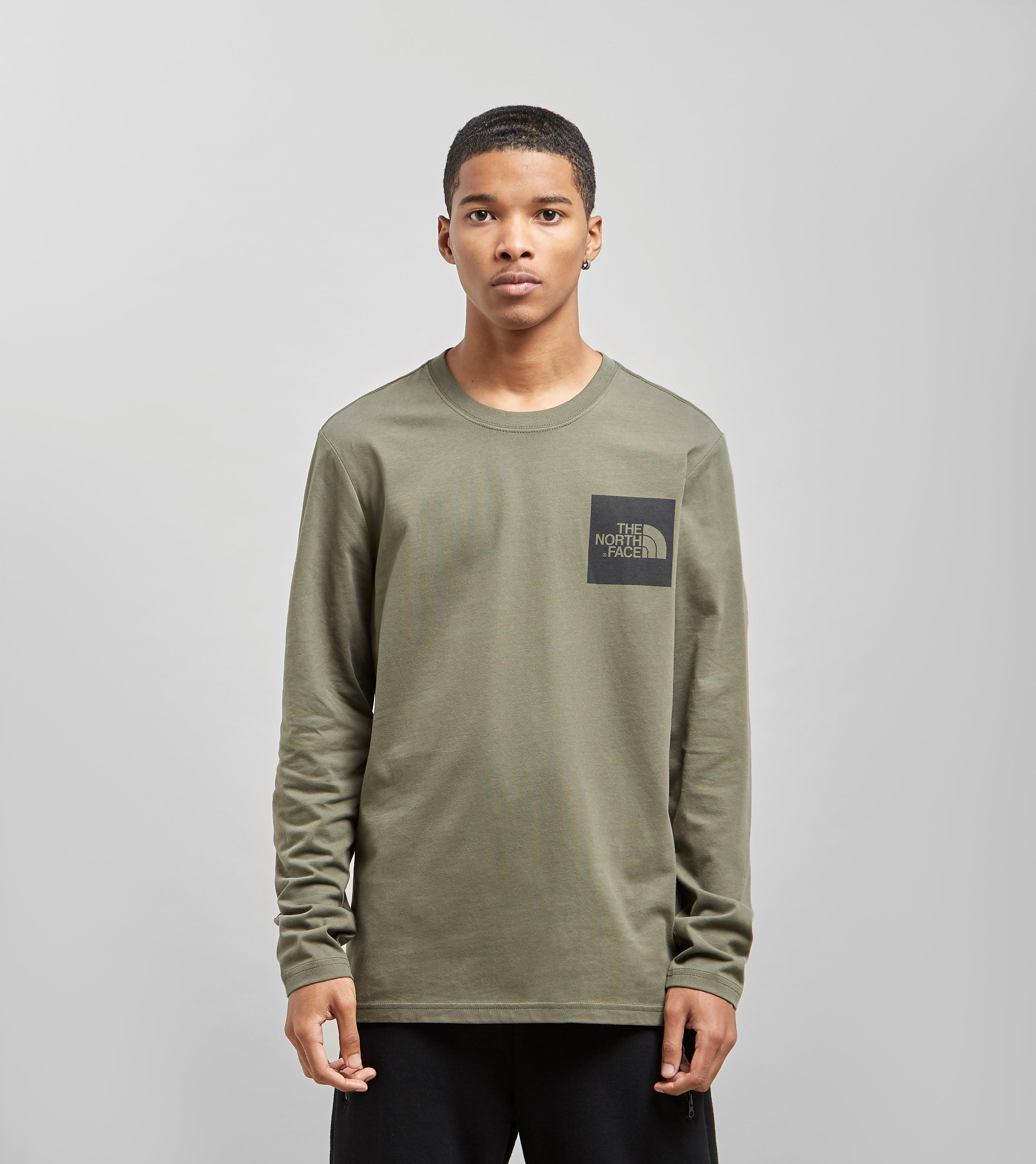 The North Face Long Sleeve Fine T-Shirt, Groen