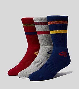 sports shoes 2f2d3 194fb Nike SB Chaussettes Skateboarding Crew - Lot de ...