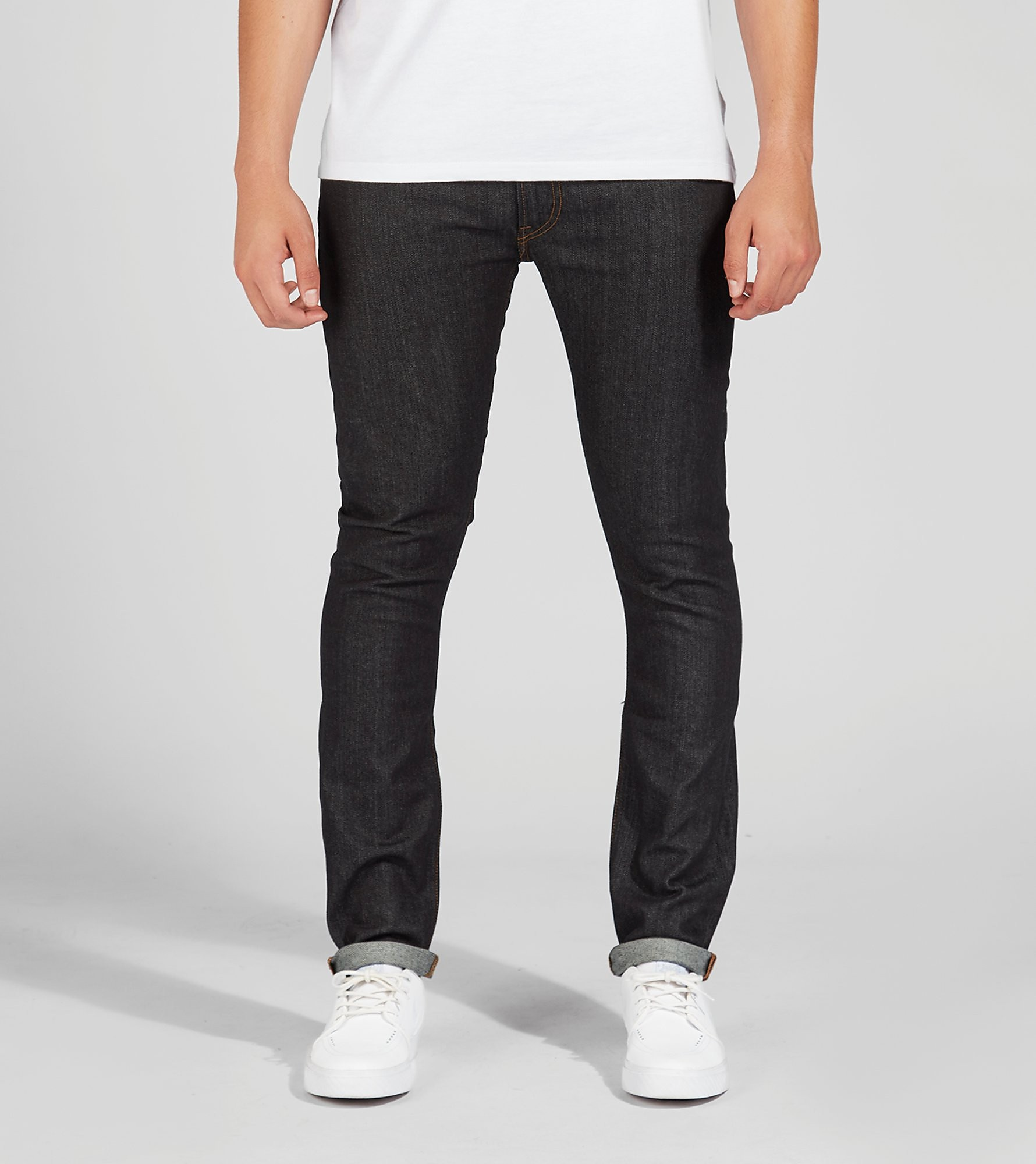Lee Luke Slim Tapered Fit Jeans 'Dark Blue'