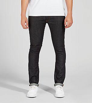 Lee Luke Slim Tapered Fit Jeans 'Dark Blue'