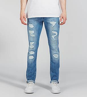 Lee Luke Slim Tapered Jeans 'Blue Trash'