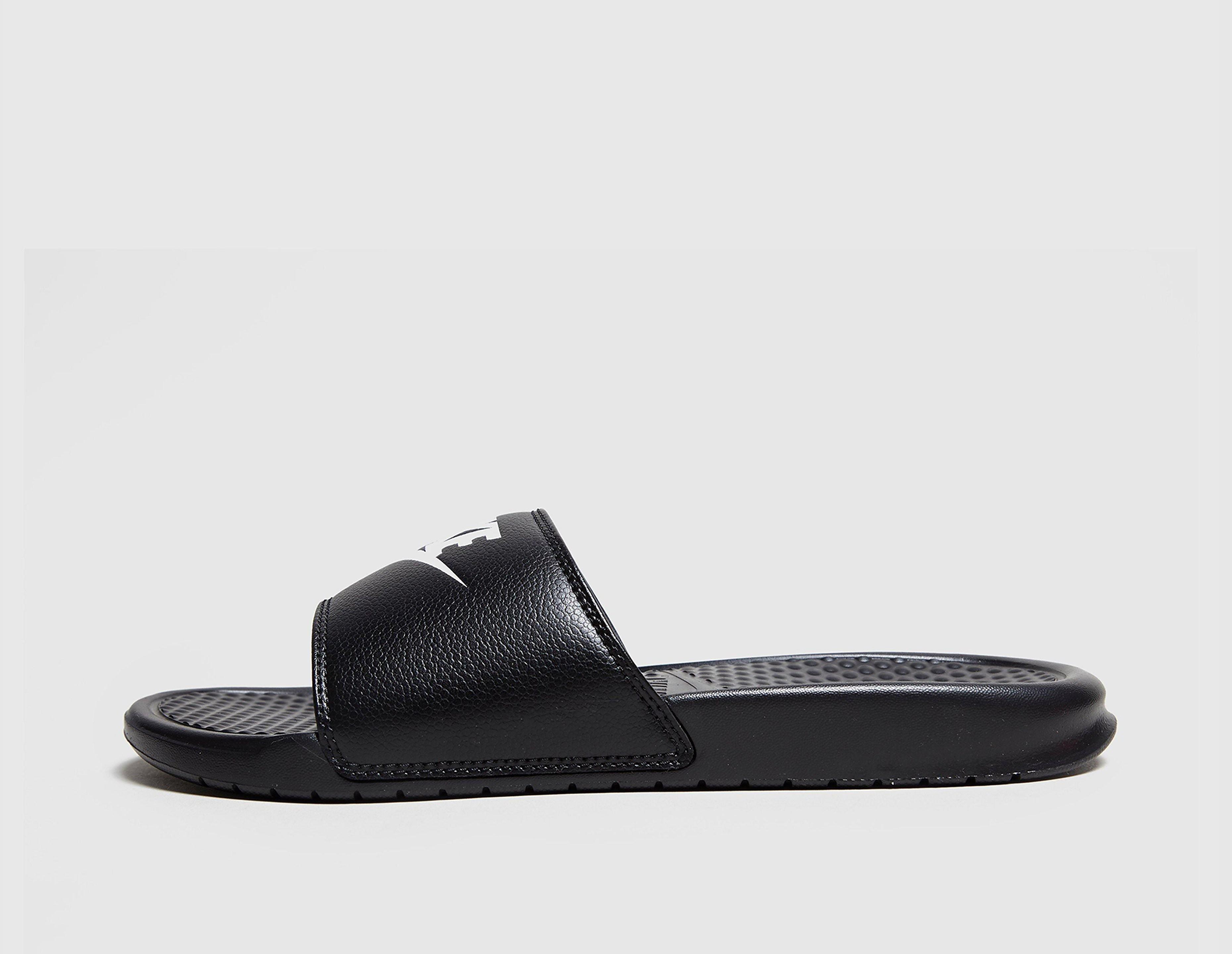 Nike Benassi Just Do It Sandaler, Sort