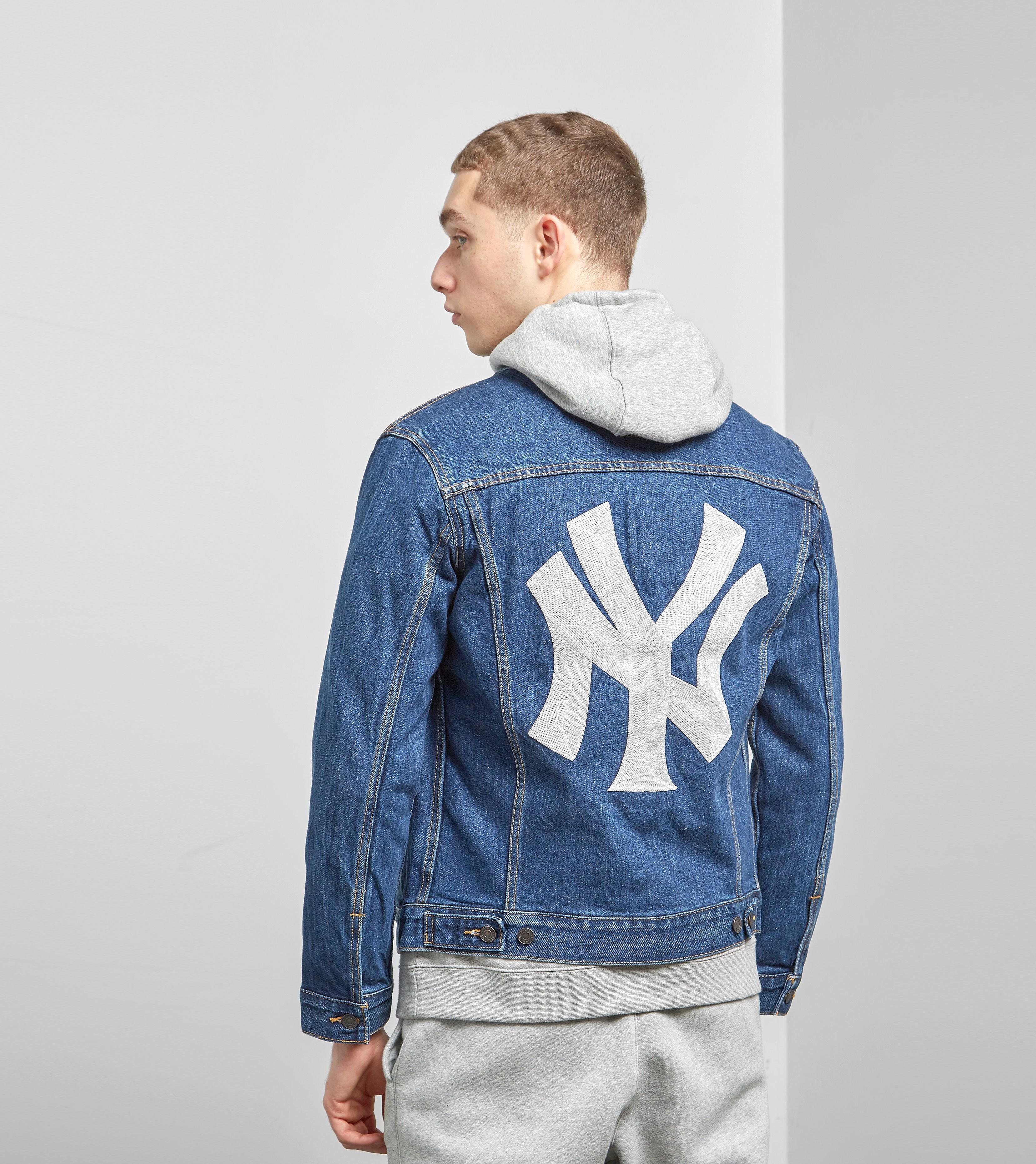 Levis x MLB New York Yankees Trucker Jacket