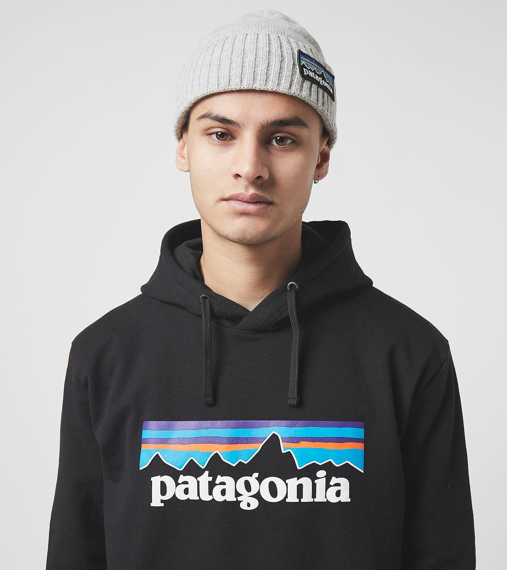 Patagonia Sweat à Capuche P-6, Noir