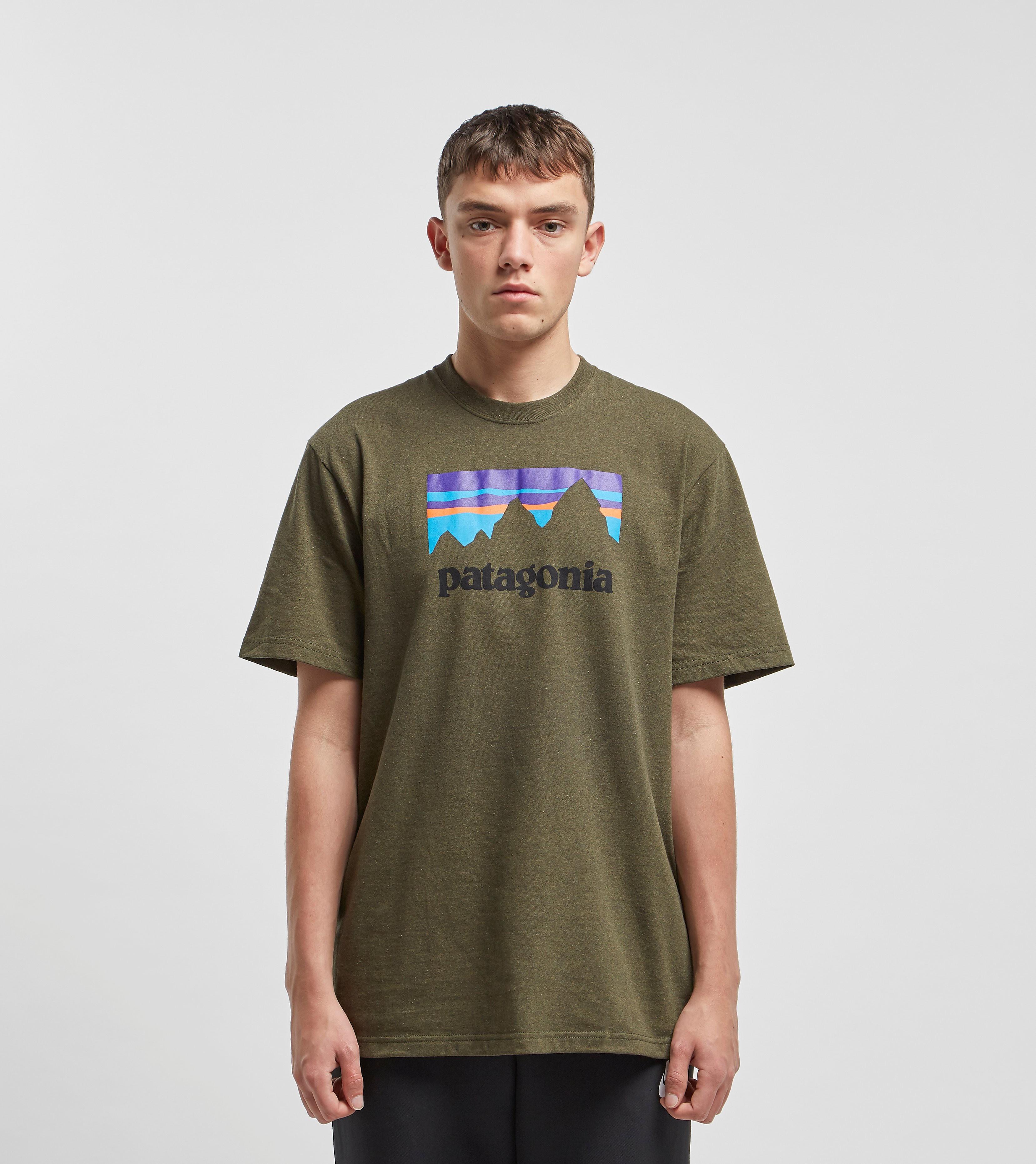 Patagonia Shop Sticker T-Shirt, Groen