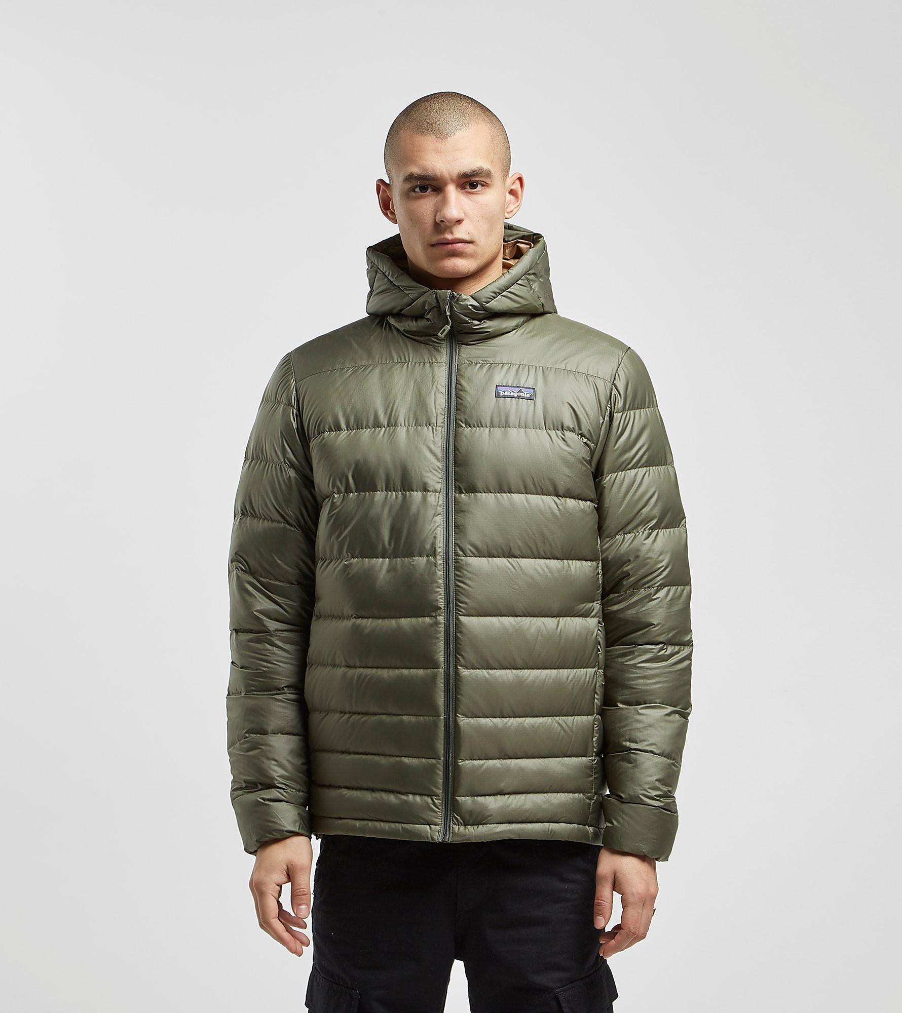 Patagonia Hi-Loft Down Sweater Hoody Jacket, Verde