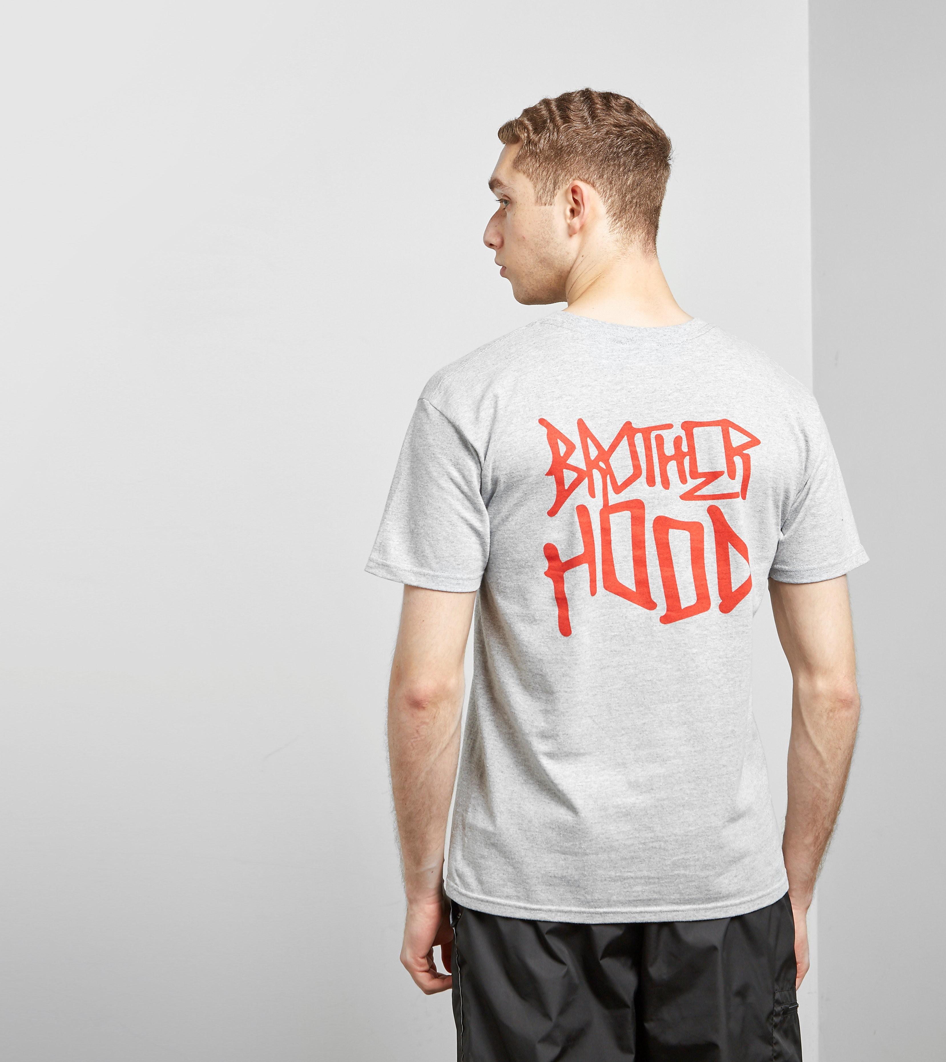 Brotherhood T-Shirt Iconic Stacked, Gris