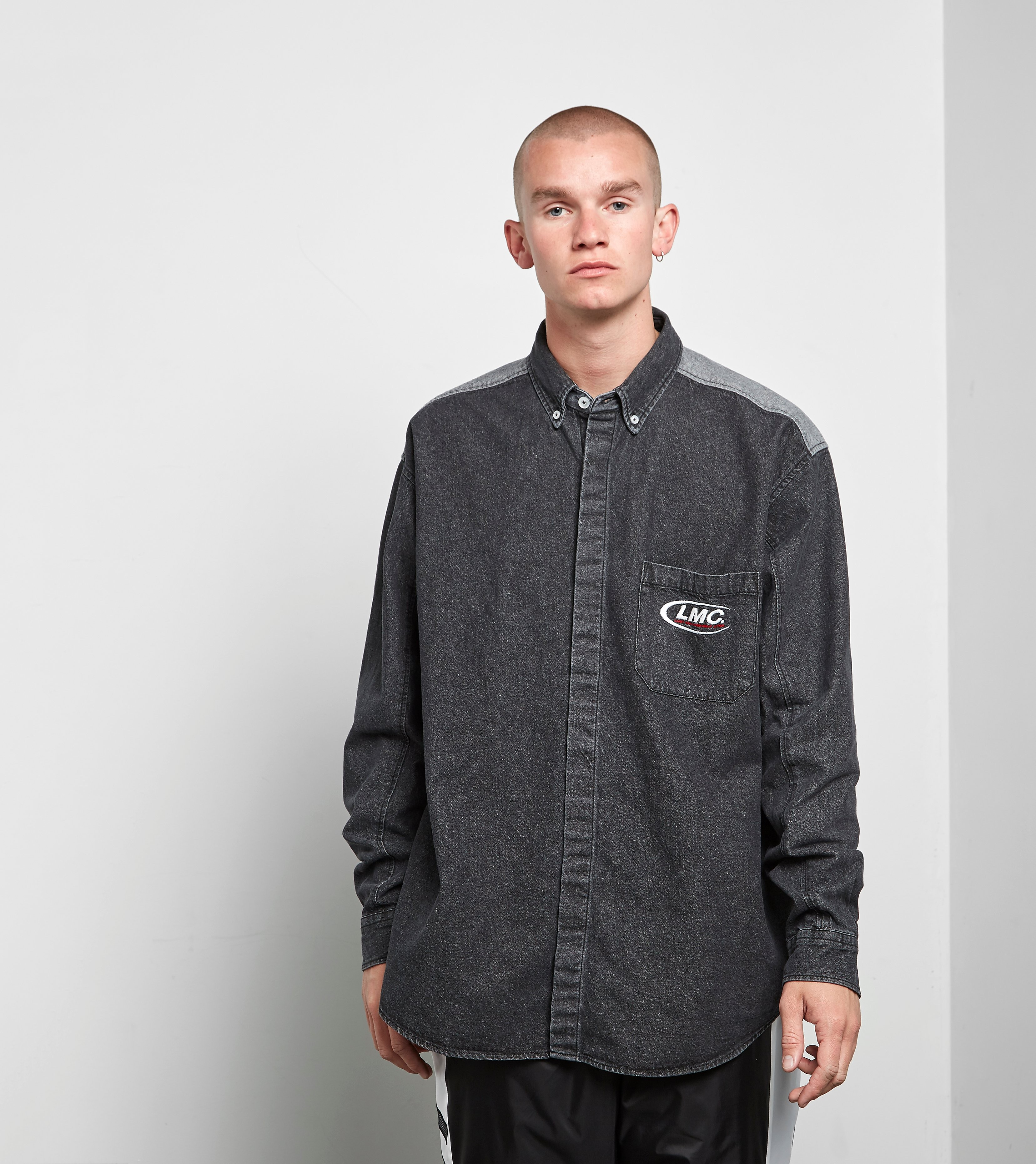 Lost Management Cities Washed Denim Shirt
