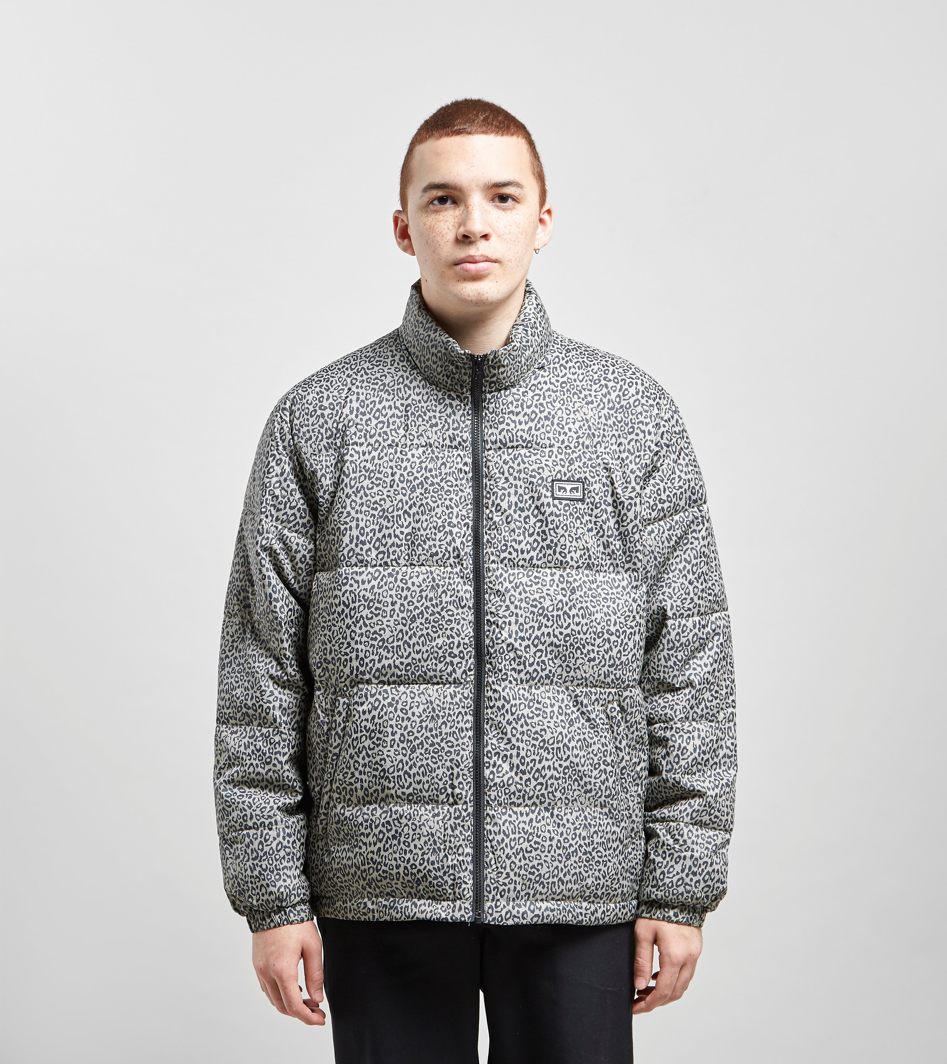 Obey Bouncer Puffer Jacket, Multicolore