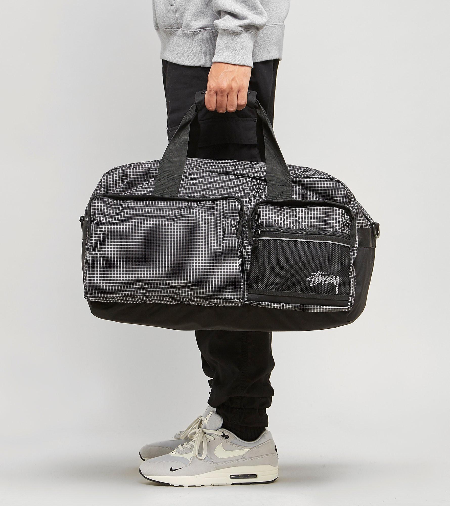 Stussy Ripstop Duffle Bag, BLK