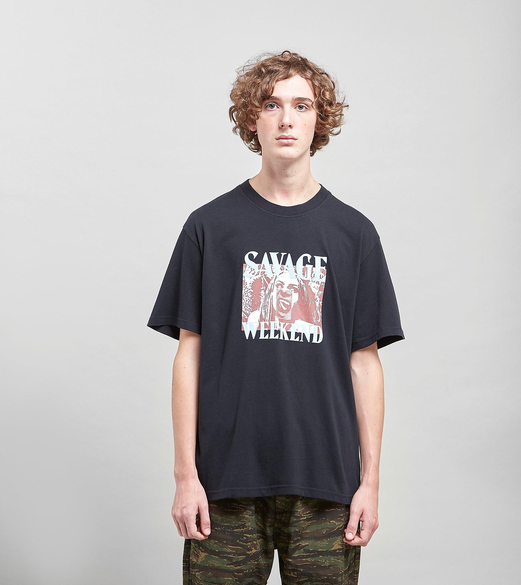 Edwin Savage Weekend T-shirt, Zwart