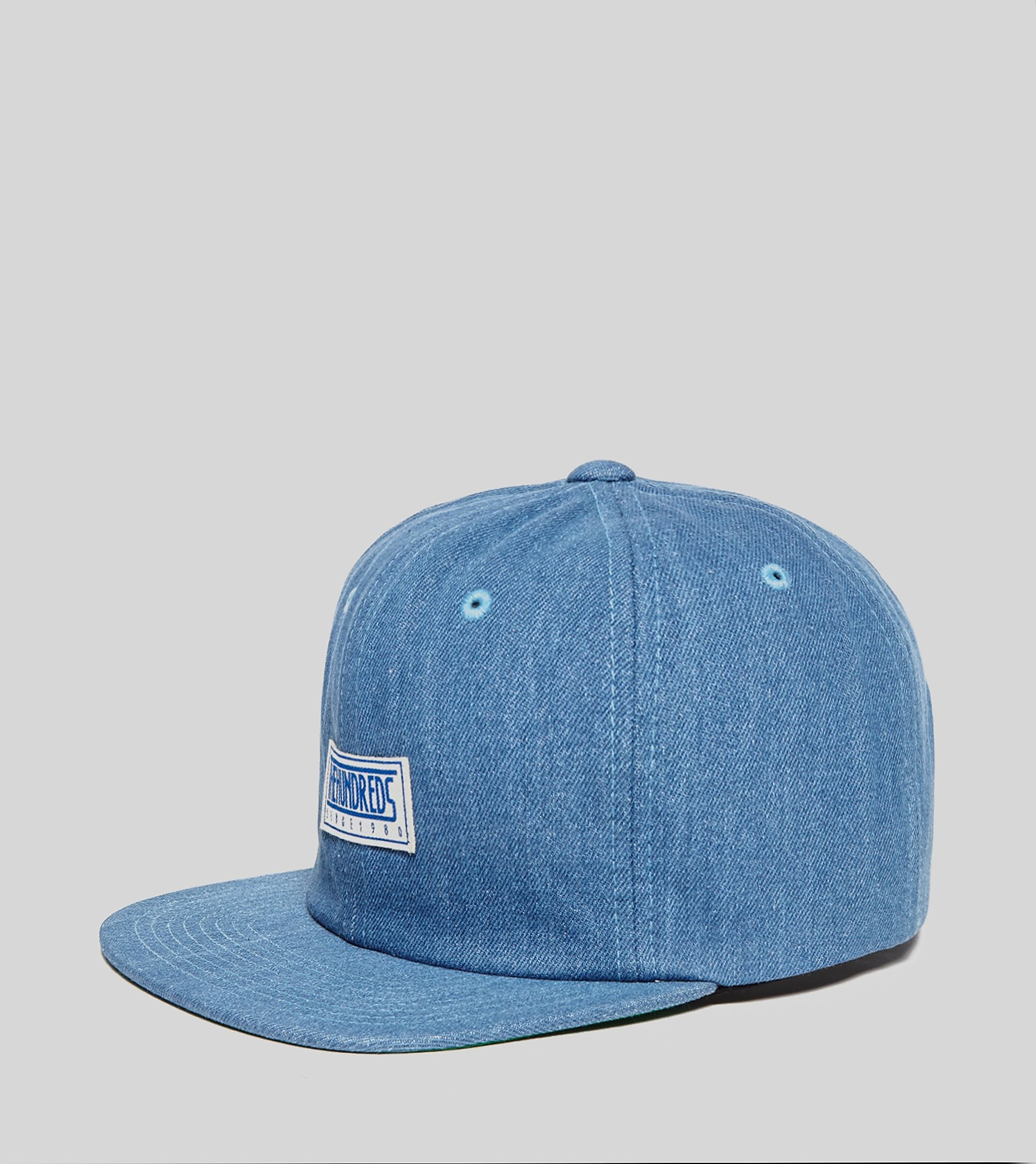 The Hundreds Removed Denim Strapback Cap