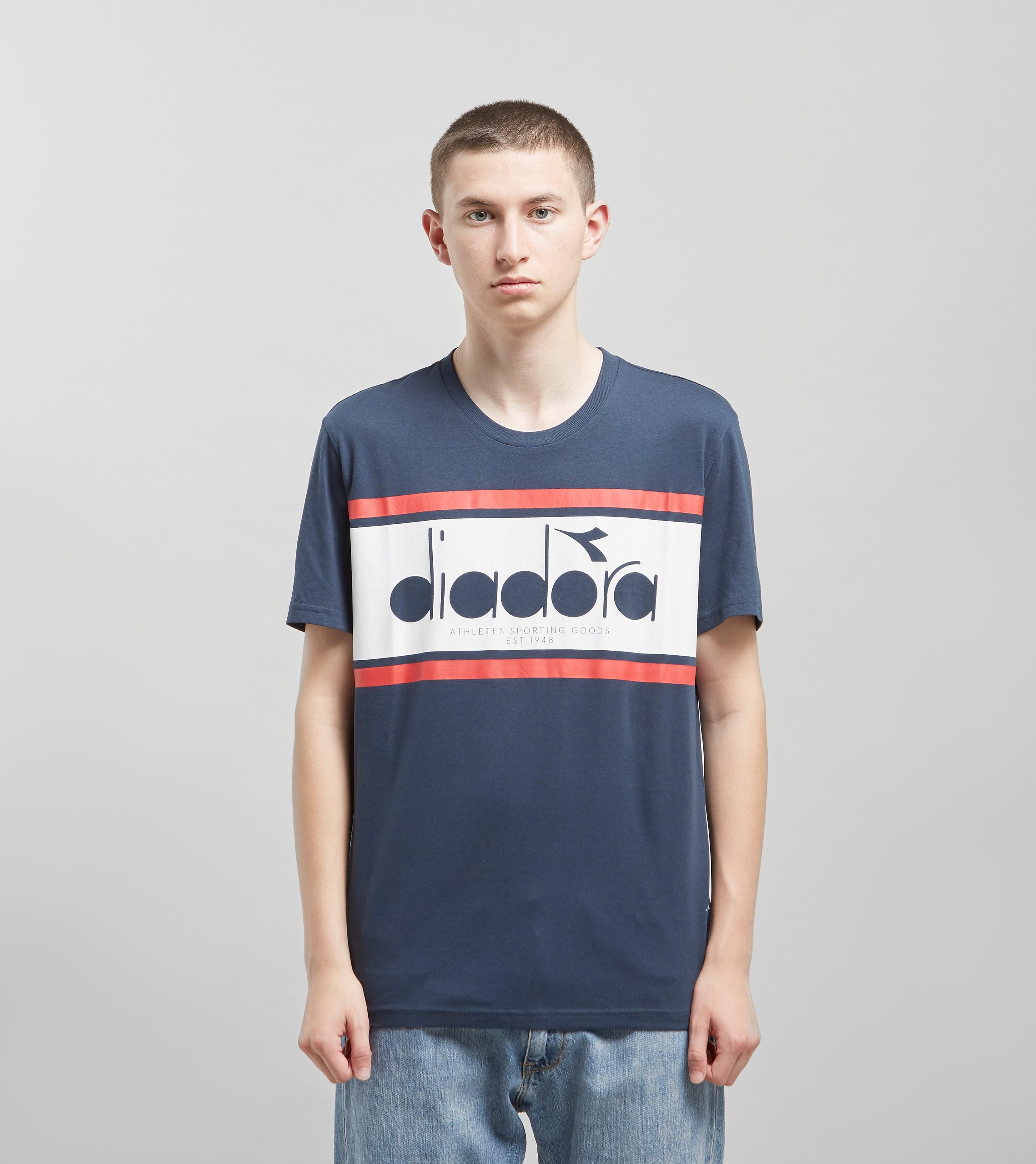 Diadora Spectra T-shirt, Blauw