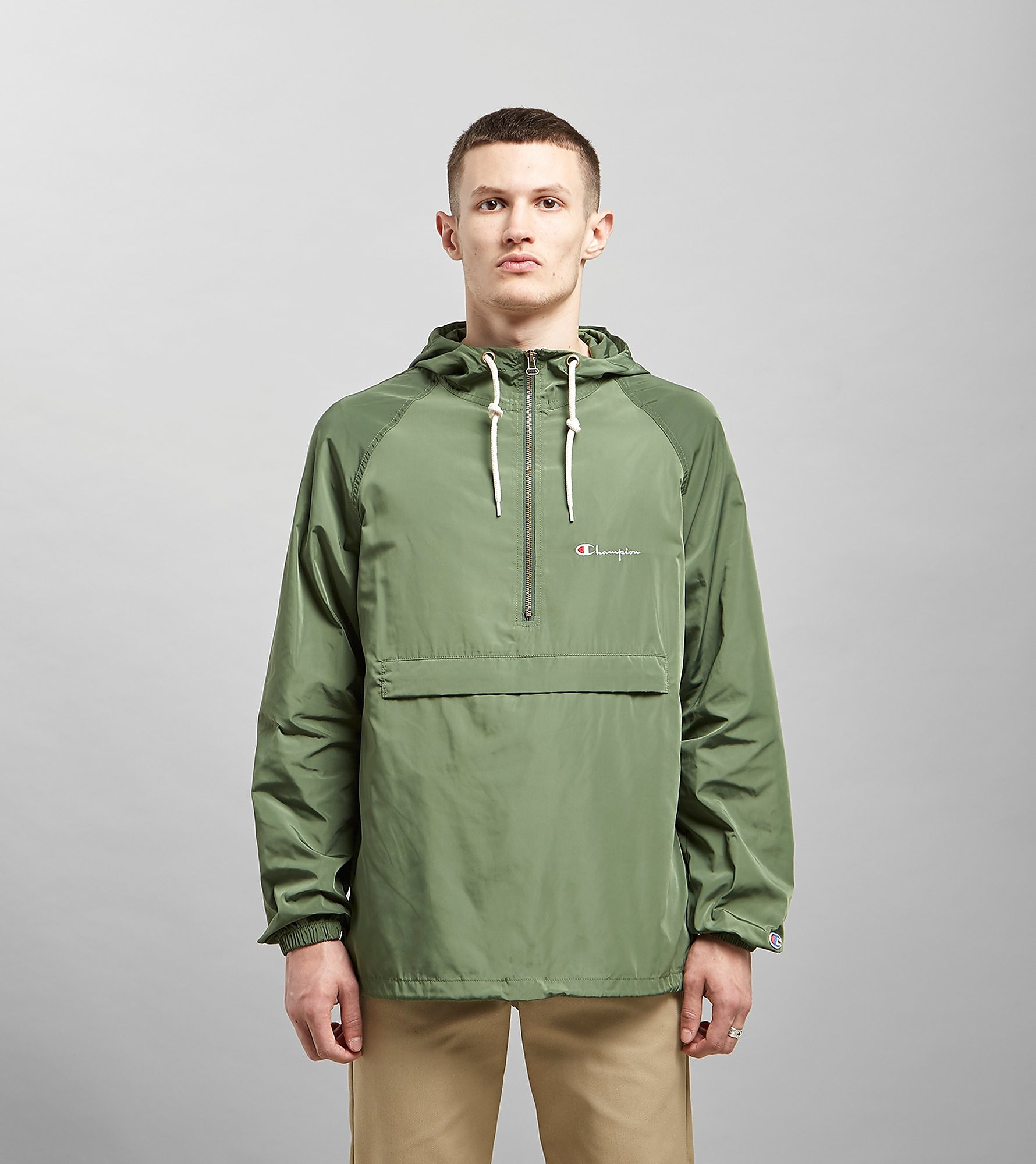 Champion Half-Zip Jacket, Verde