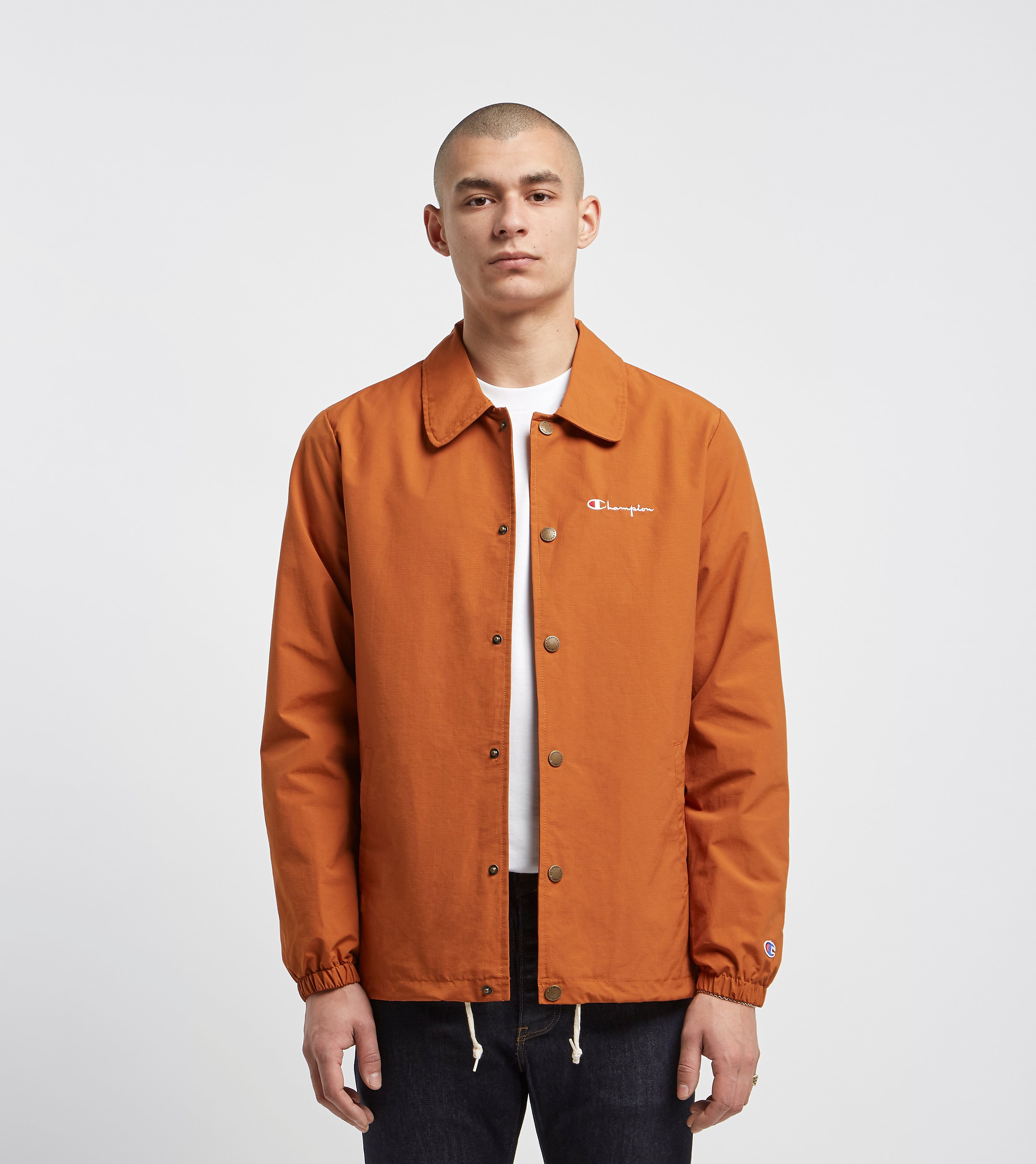 Champion Ripstop Coach Jacket, Arancio