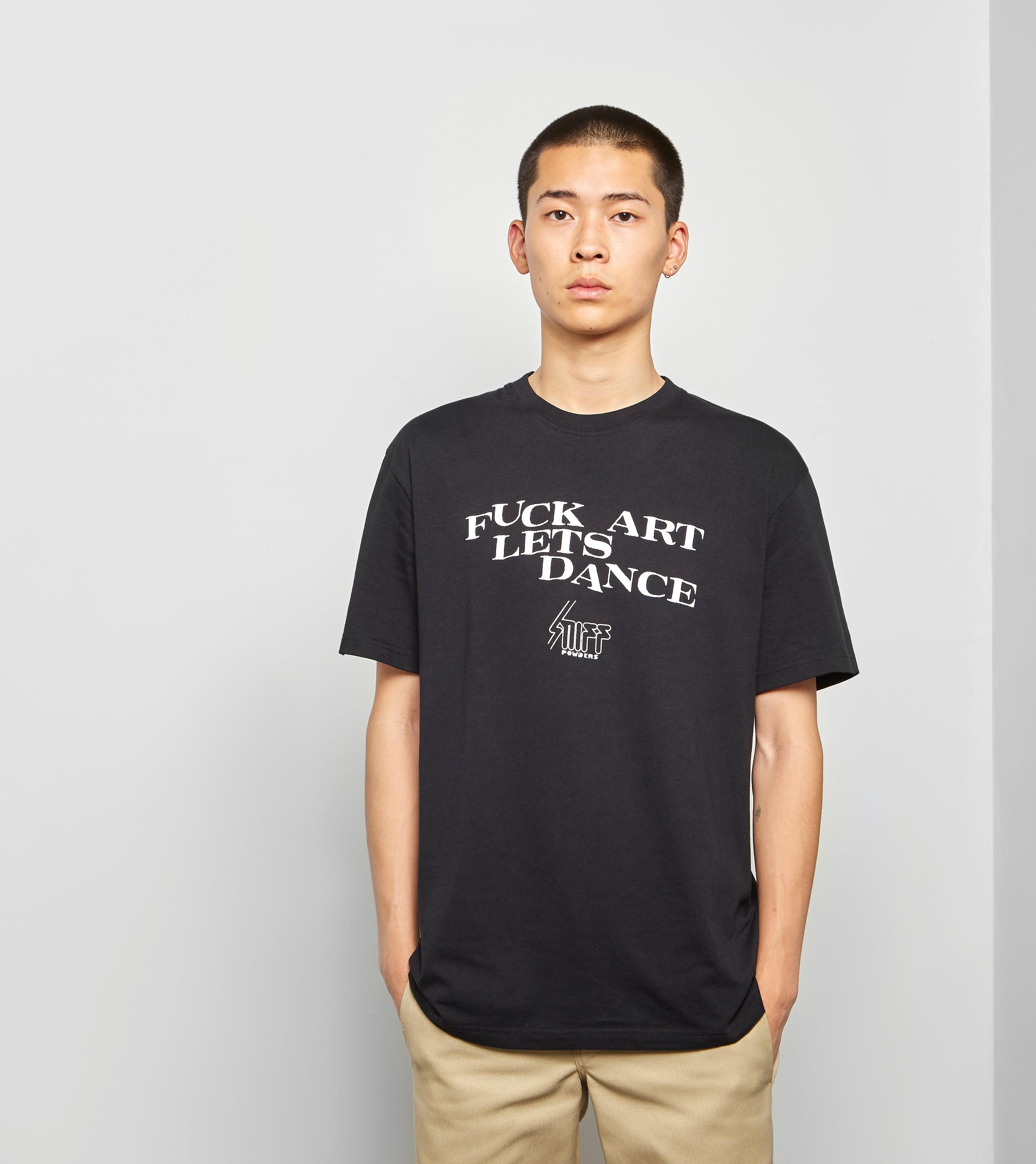 Paradise Youth Club Sniff T-Shirt, Zwart