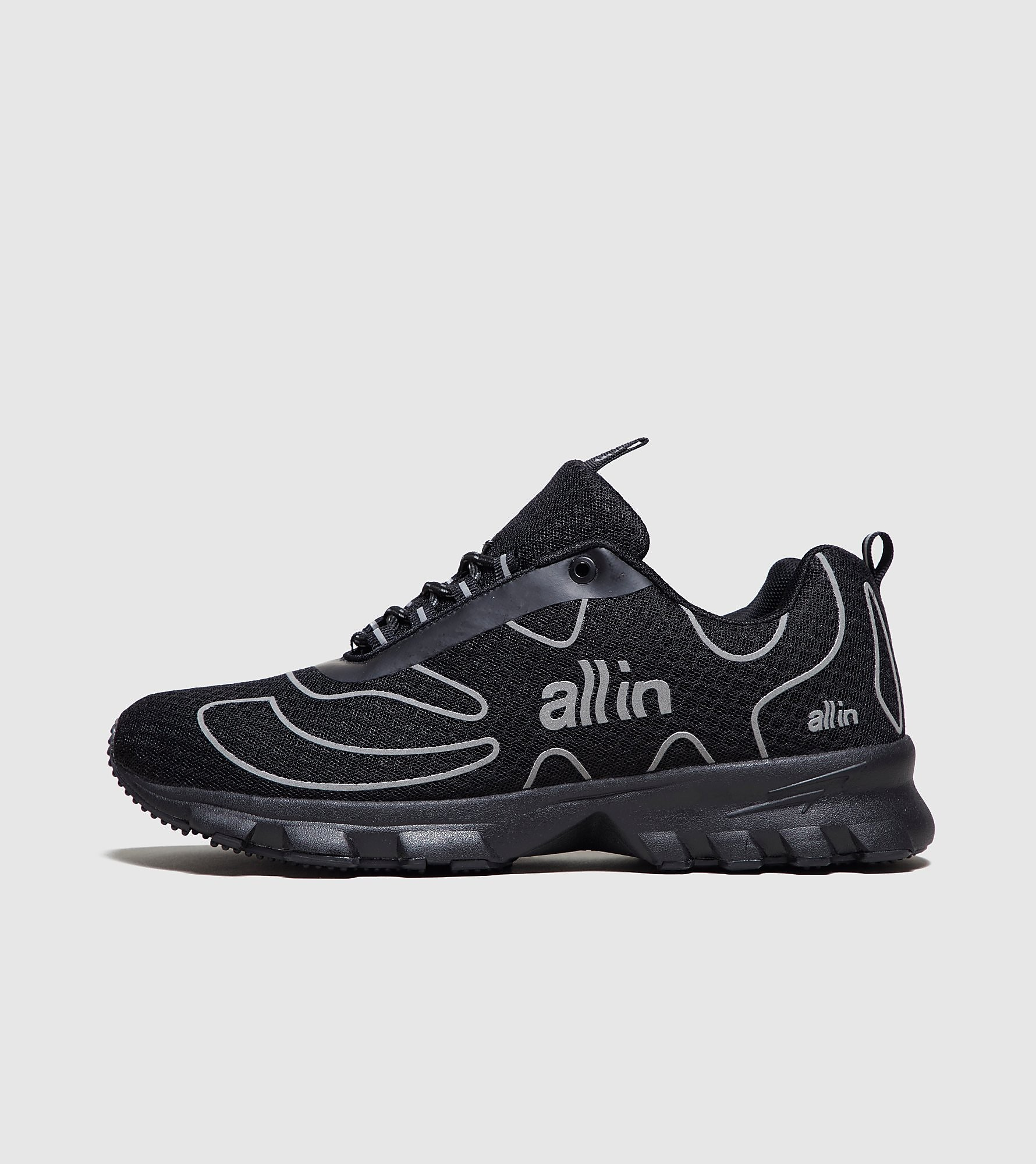 all in Tennis Shoe, Noir