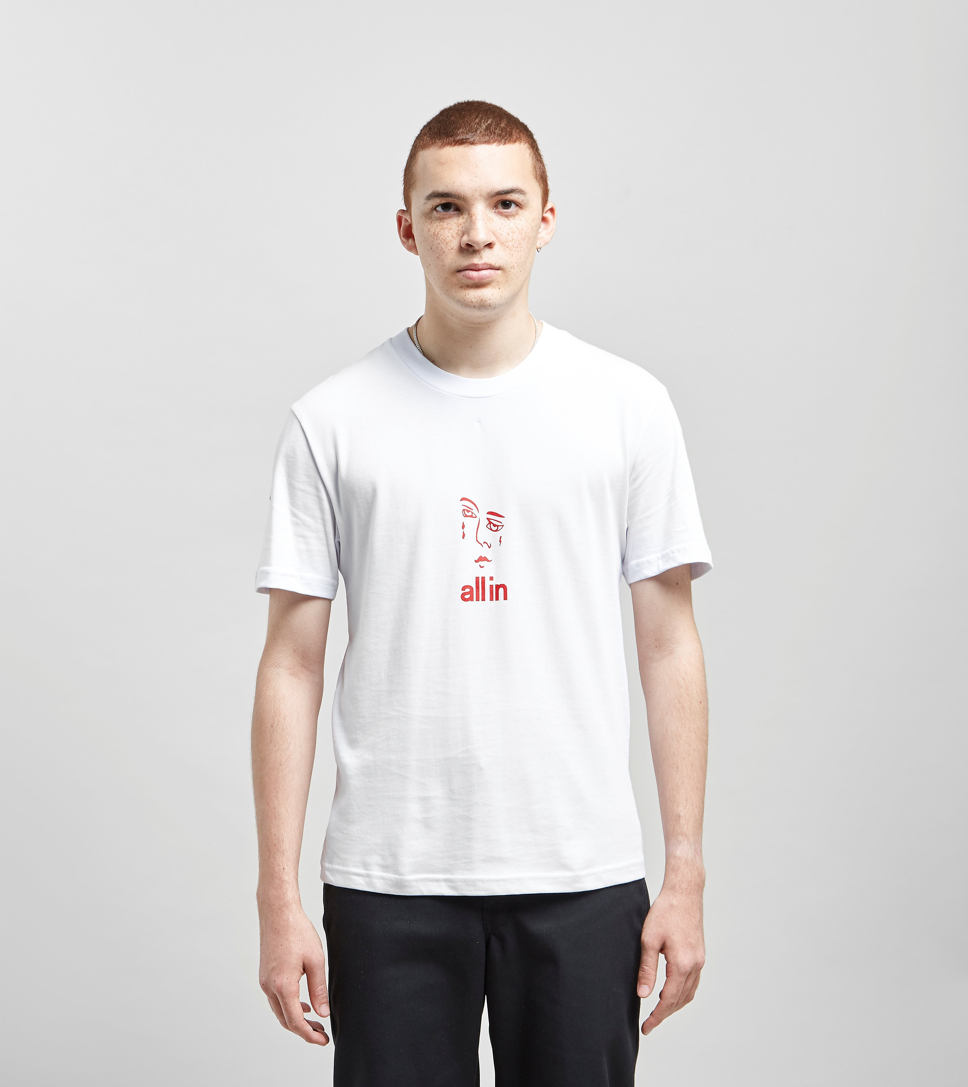 all in T-Shirt Jacknave, Blanc