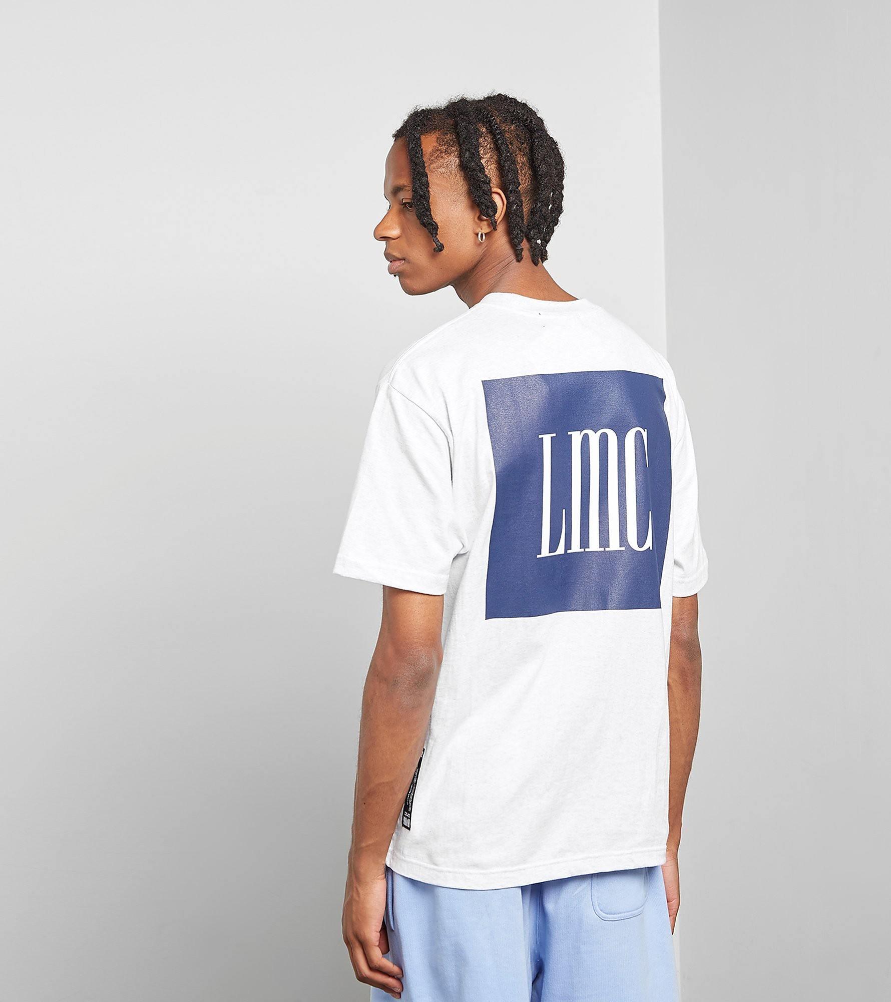 Lost Management Cities T-Shirt Navy Box, Gris