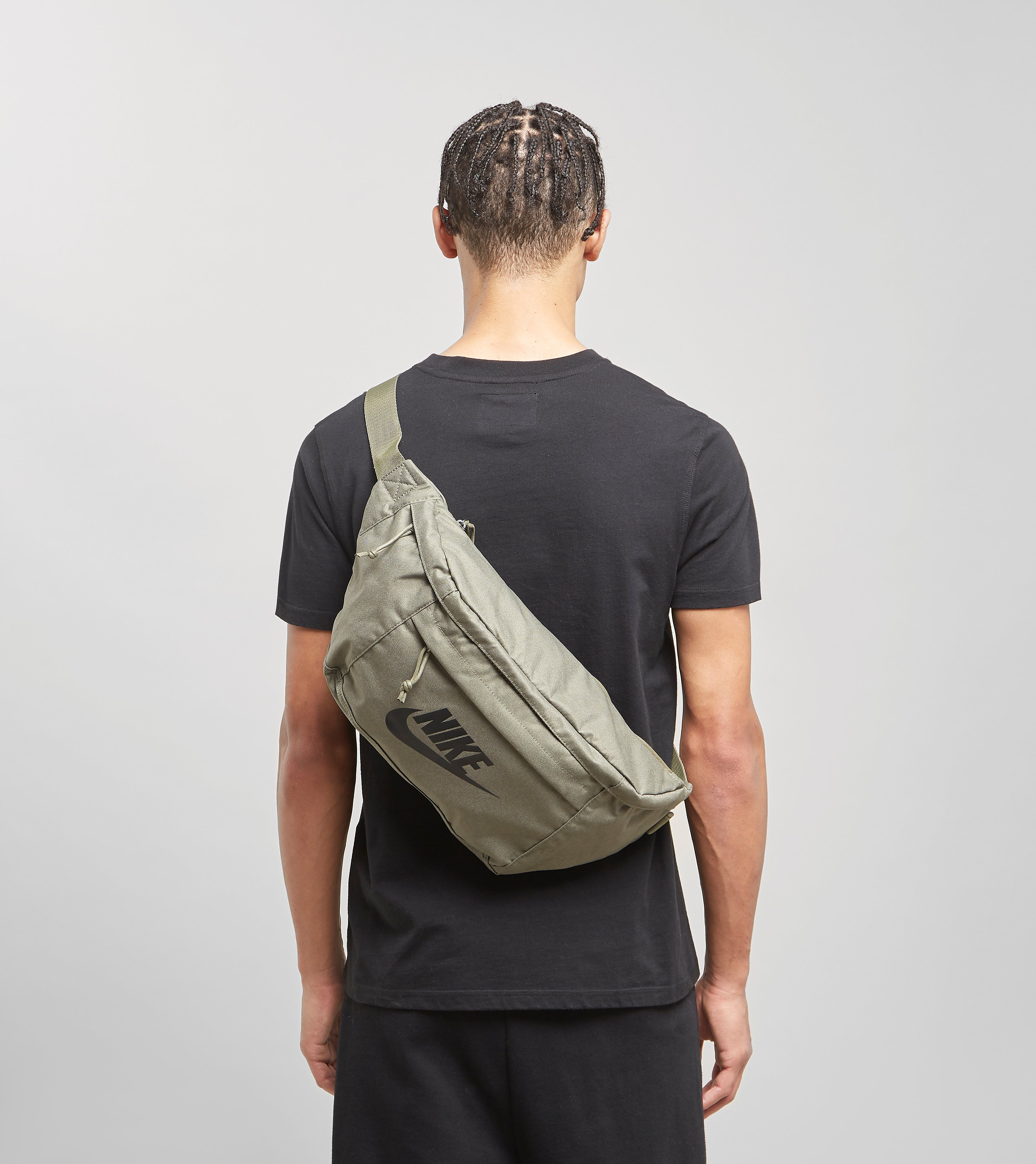 Nike Tech Waist Bag, Olive/Black