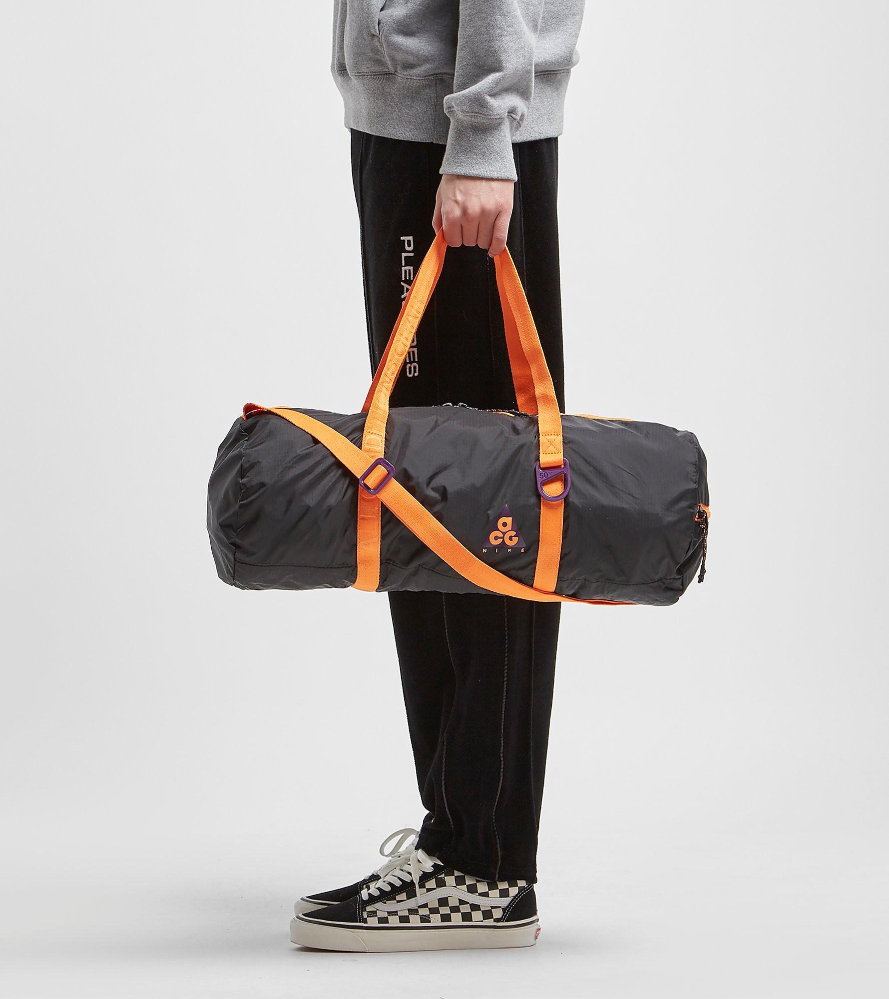 Nike ACG Packable Duffel Bag, Zwart
