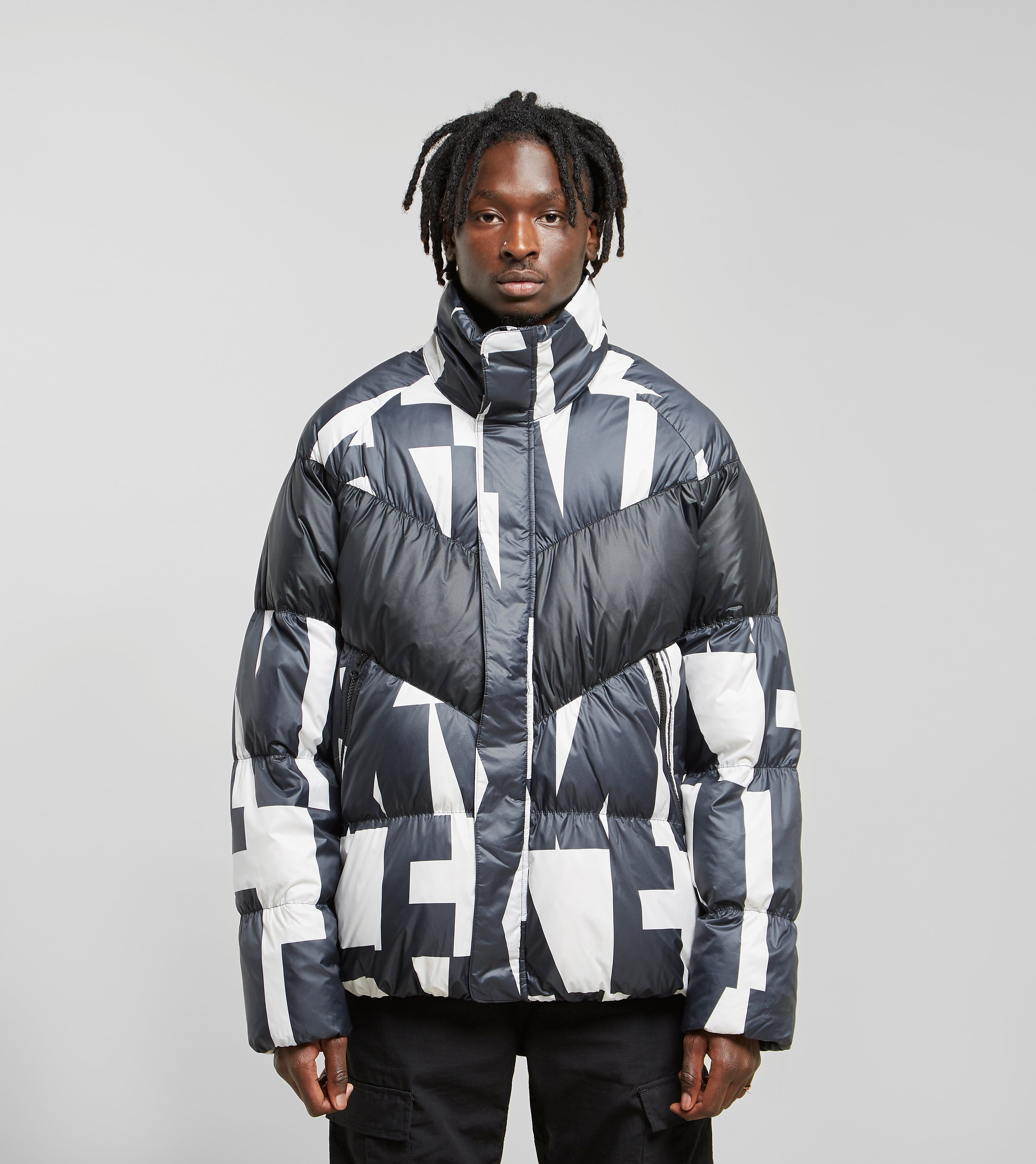 Nike Down Fill All Over Print Jacket, Nero