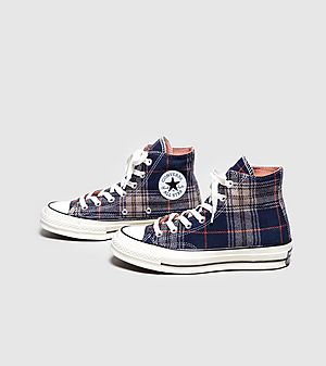 937b1bb294e ... Converse Chuck Taylor All Star 70 s High Plaid Women s