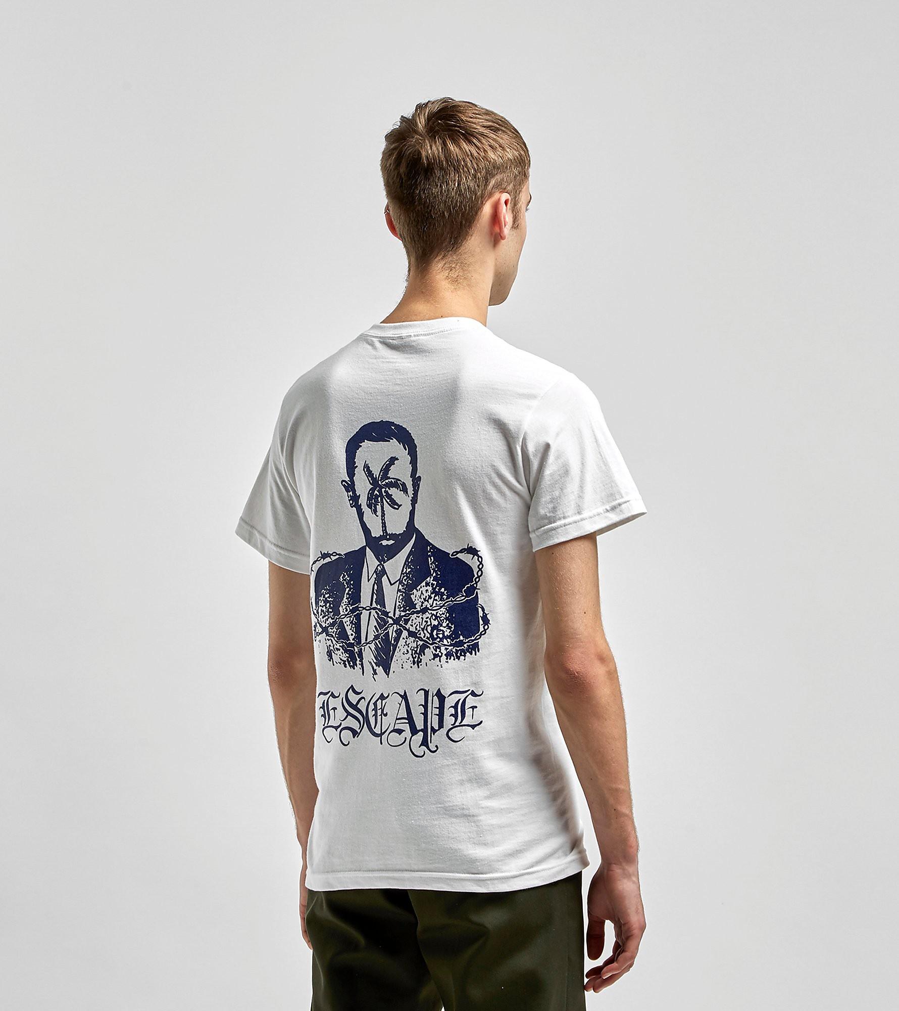 Jungles Jungles T-Shirt Escape, Blanc