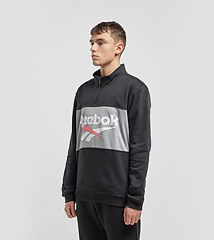 e50d0775807 Reebok Classic Vector Quarter Zip Sweatshirt Reebok Classic Vector Quarter  Zip Sweatshirt
