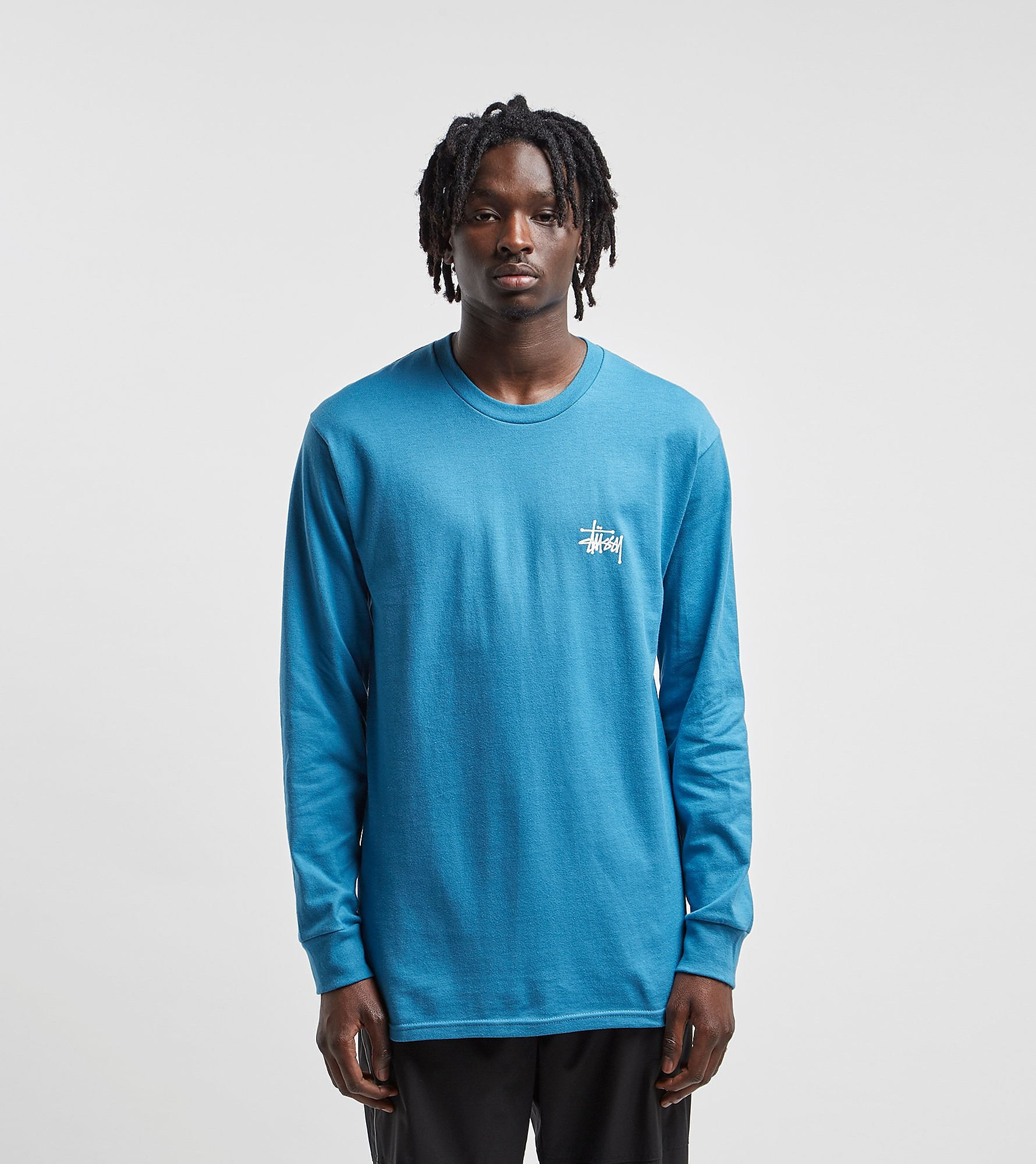 Stussy Long-Sleeved Basic Logo T-Shirt
