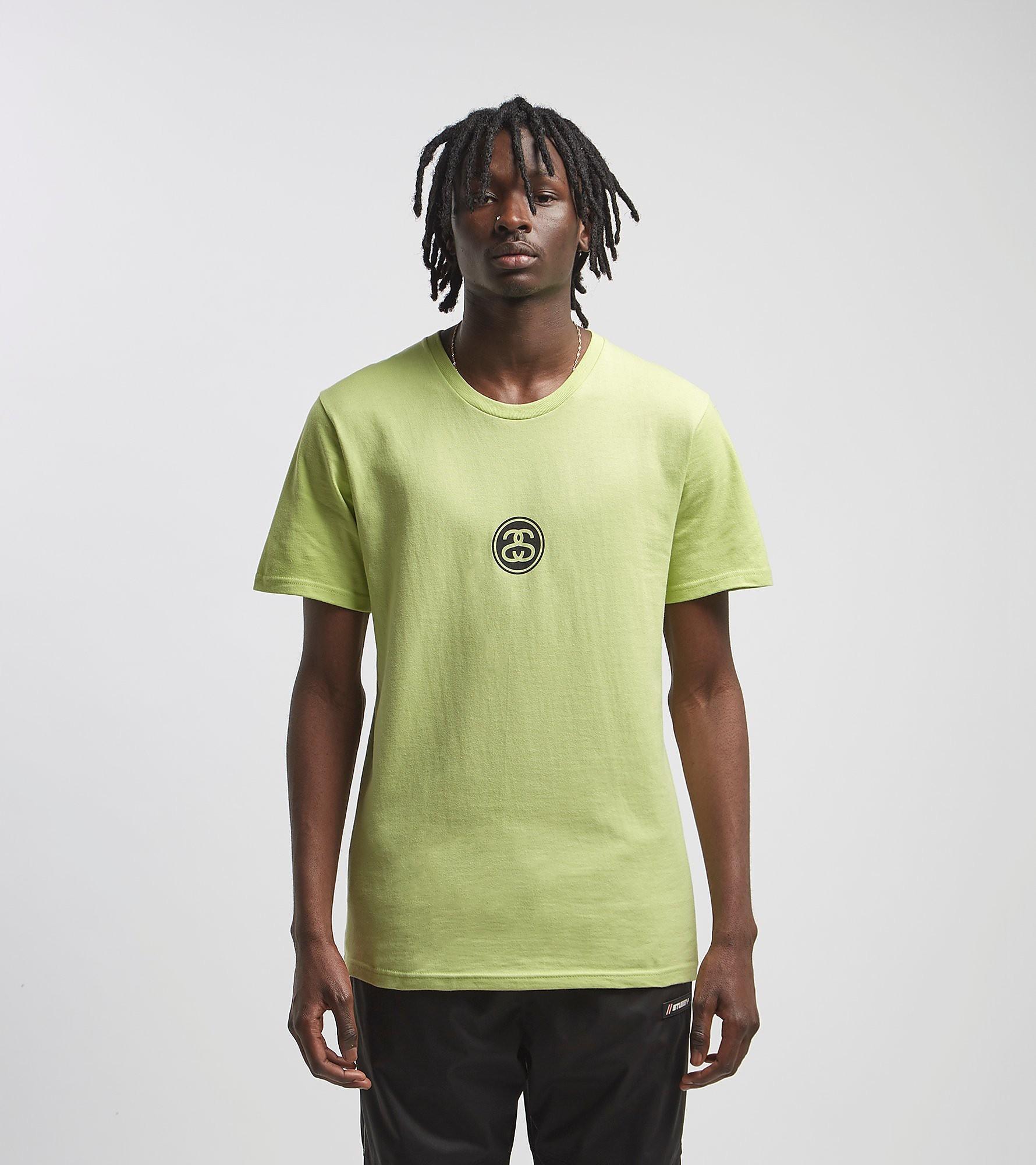 Stussy Link T-Shirt, Groen